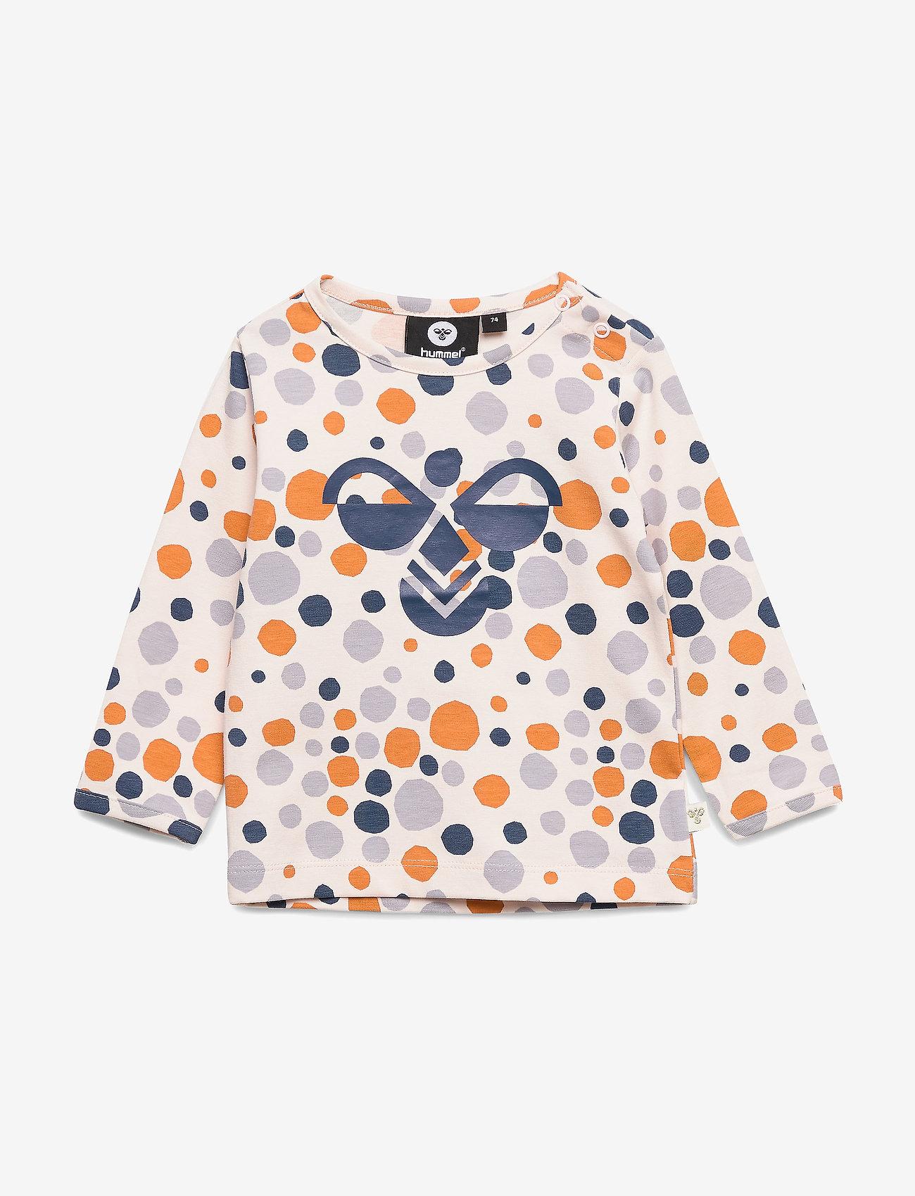 Hummel - hmlEDNA T-SHIRT L/S - long-sleeved t-shirts - rosewater - 0