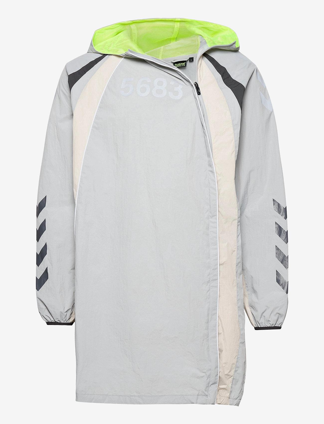 Hummel - hmlWILLY LONG JACKET - sports jackets - harbor mist - 0