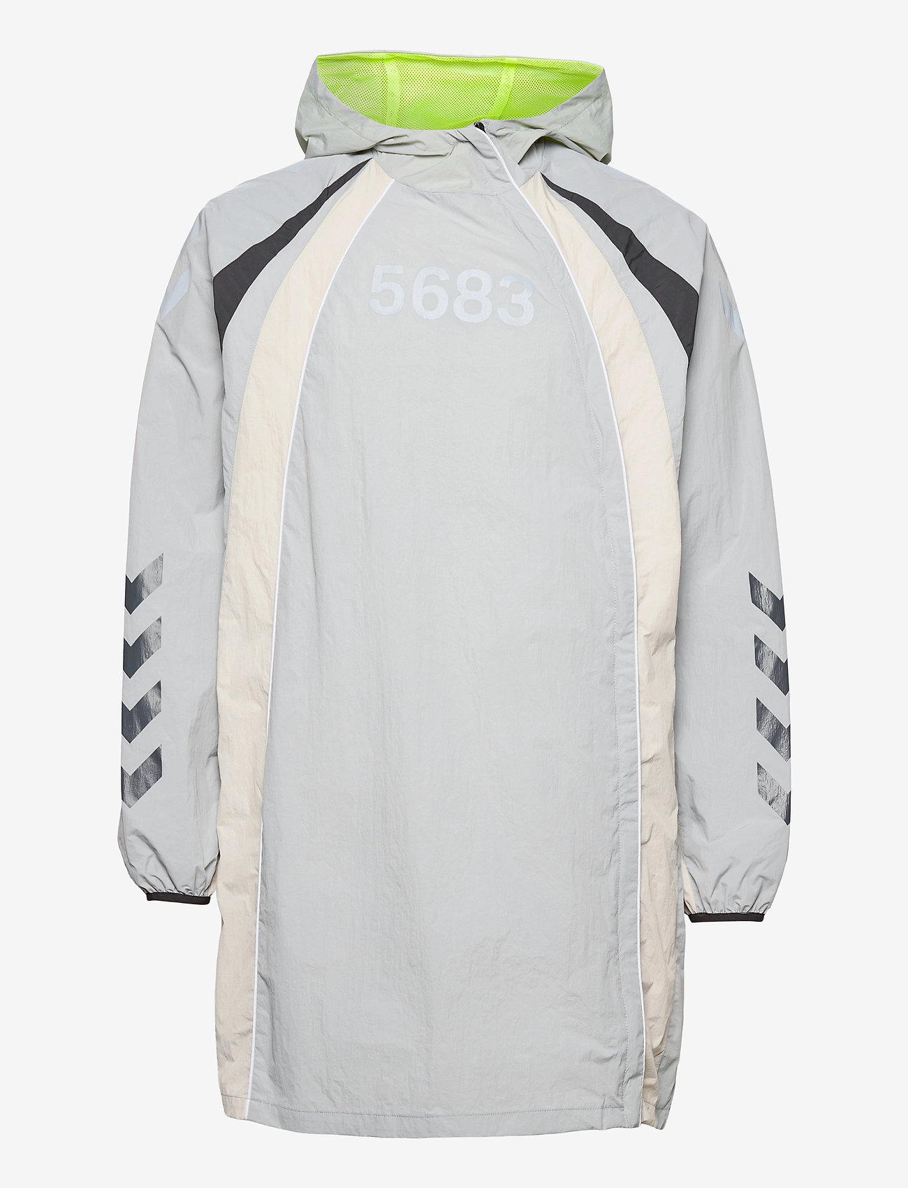 Hummel - hmlWILLY LONG JACKET - sports jackets - harbor mist - 1