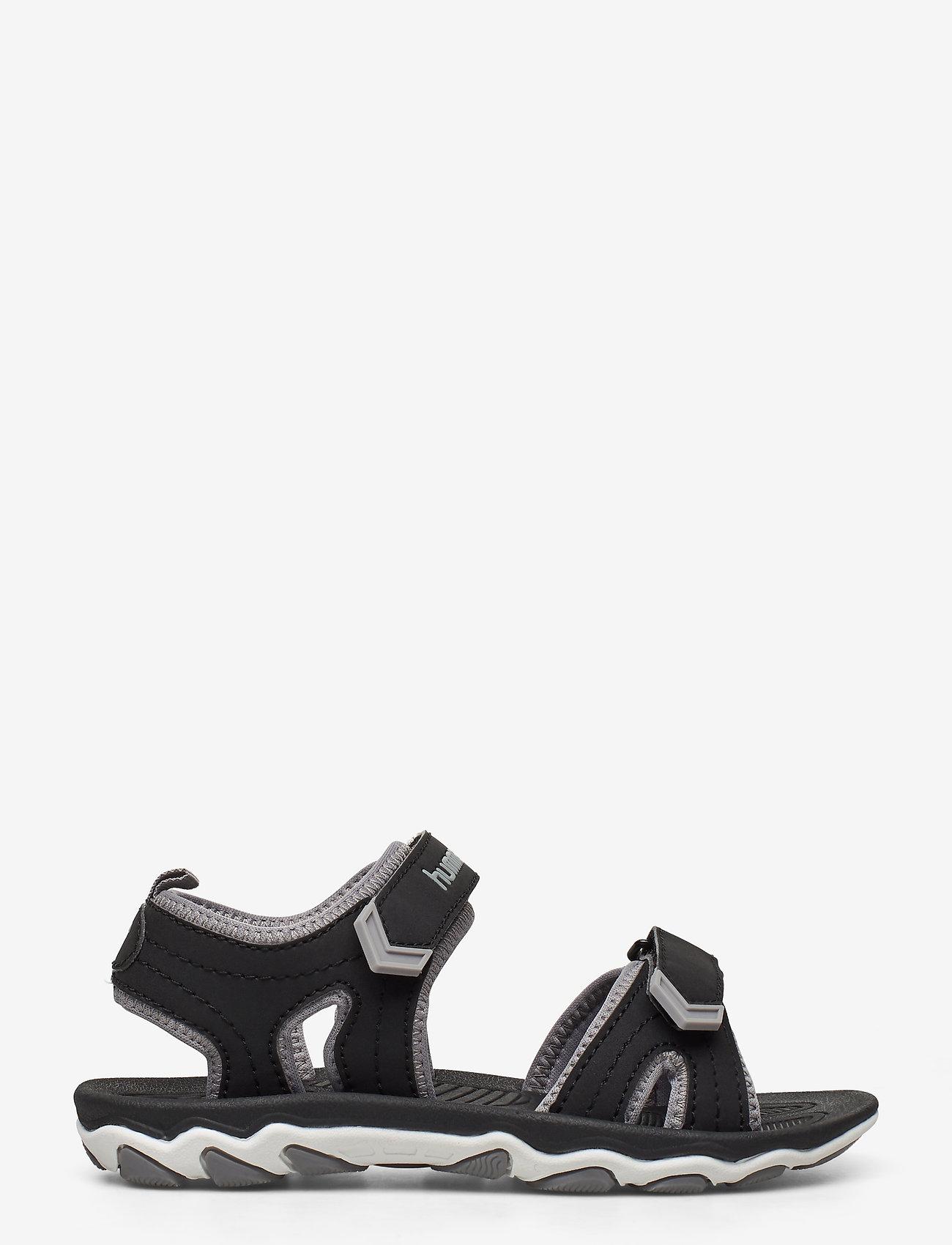 Hummel - SANDAL SPORT JR - sandals - black