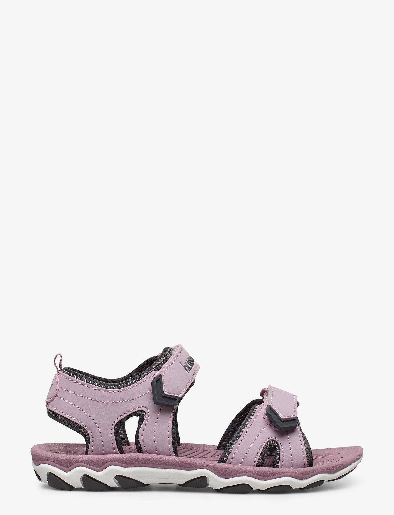 Hummel - SANDAL SPORT JR - sandals - mauve shadow