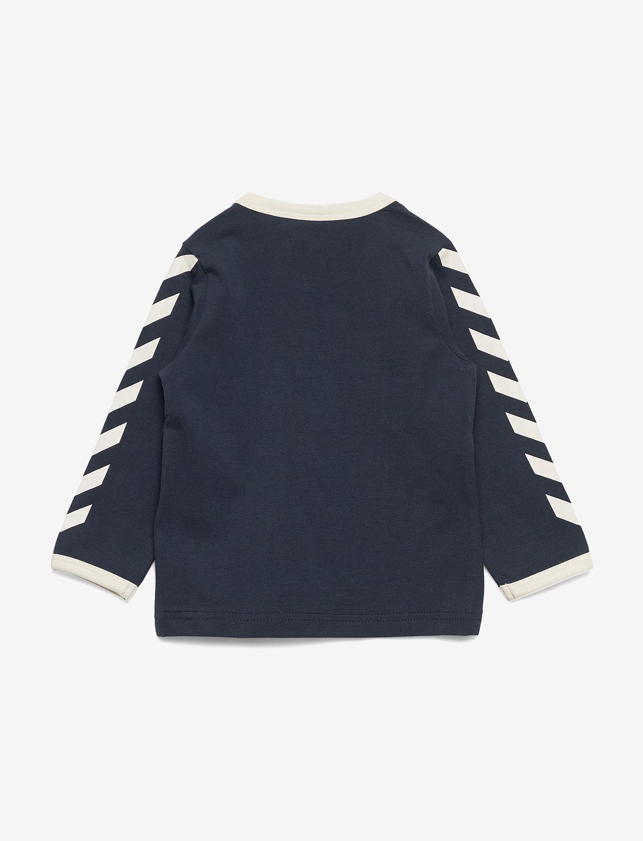 Hummel - hmlFLIPPER T-SHIRT L/S - long-sleeved t-shirts - blue nights - 1