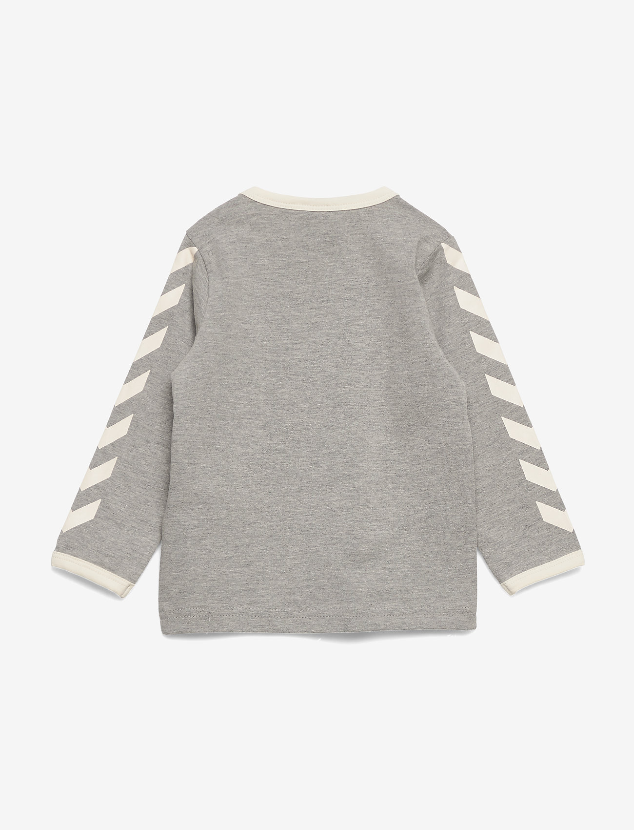 Hummel - hmlFLIPPER T-SHIRT L/S - long-sleeved t-shirts - grey melange - 1