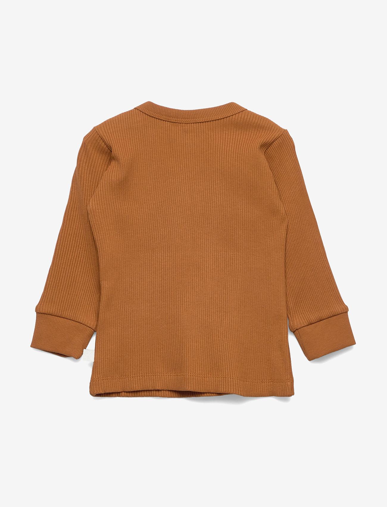 Hummel Hmlsami T-shirt L/s - Överdelar Glazed Ginger