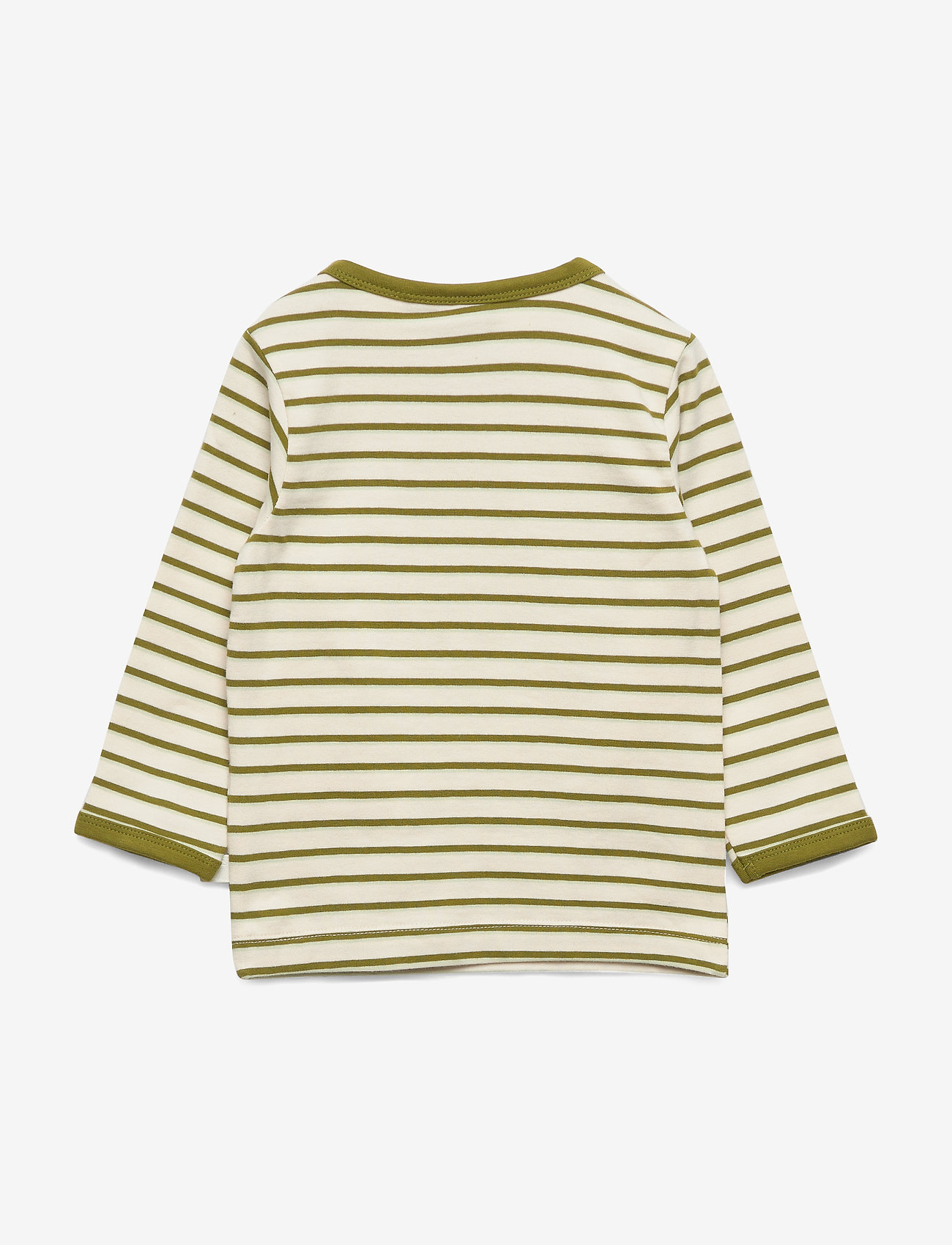 Hummel - hmlALAN T-SHIRT L/S - long-sleeved t-shirts - pesto - 1