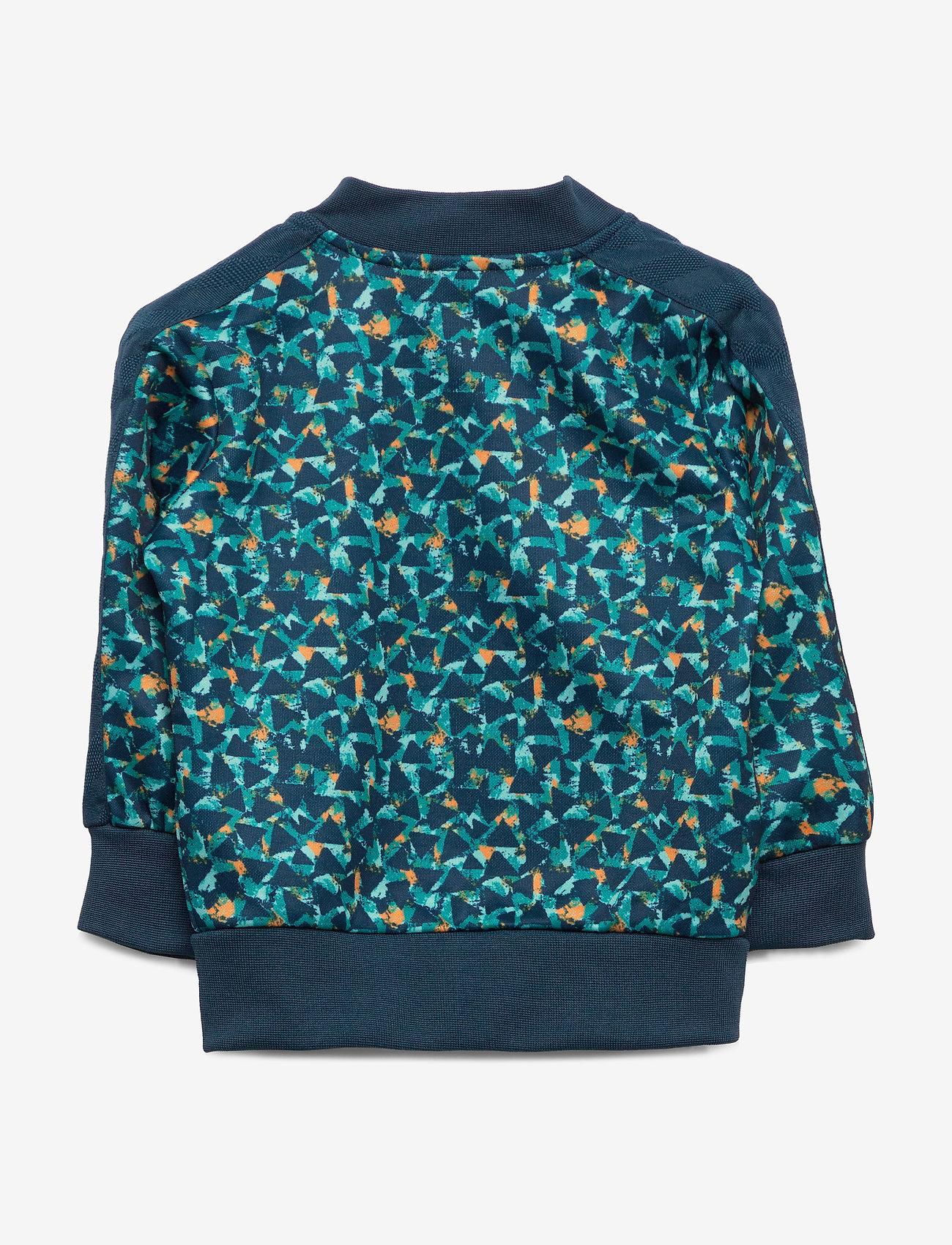Hummel Hmlernesto Zip Jacket - Överdelar Majolica Blue