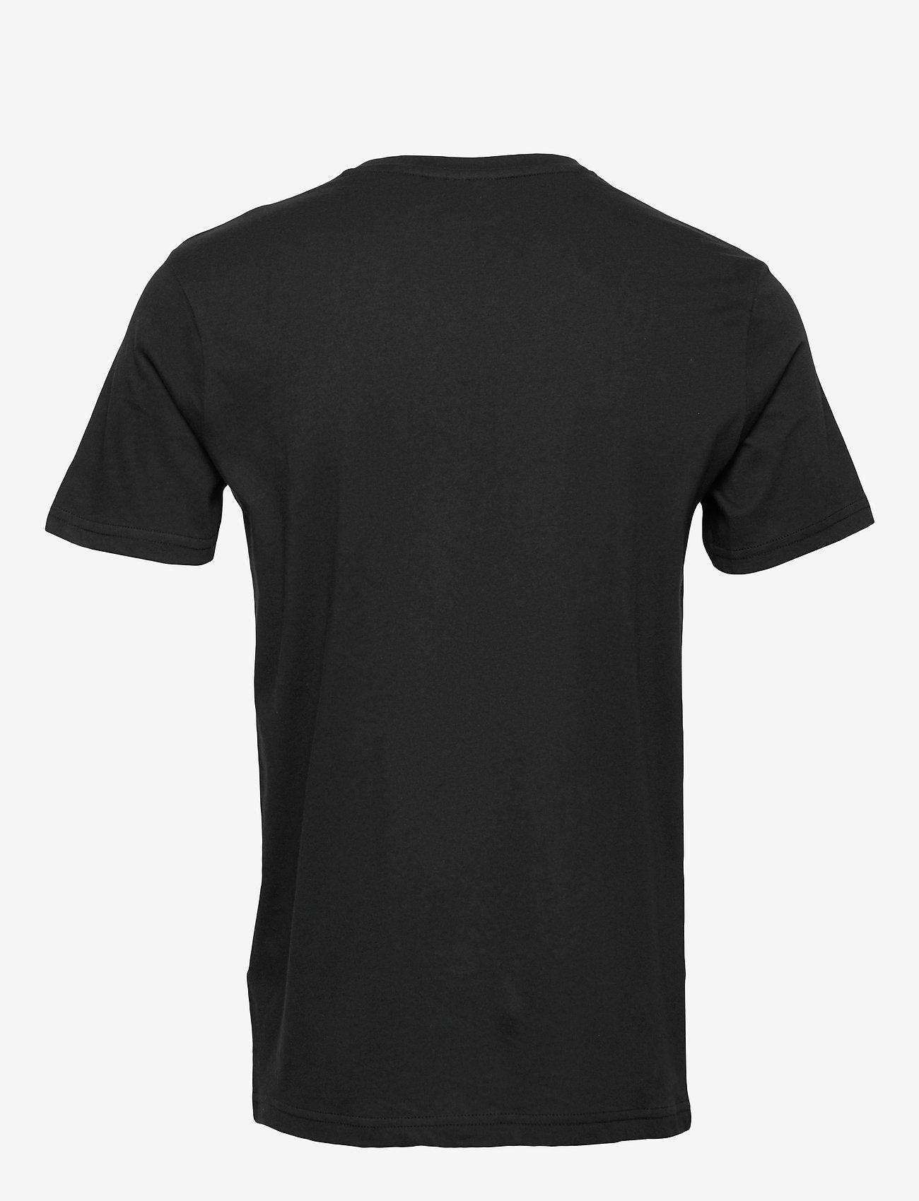 Hummel - hmlPETER T-SHIRT S/S - t-shirts - black - 1