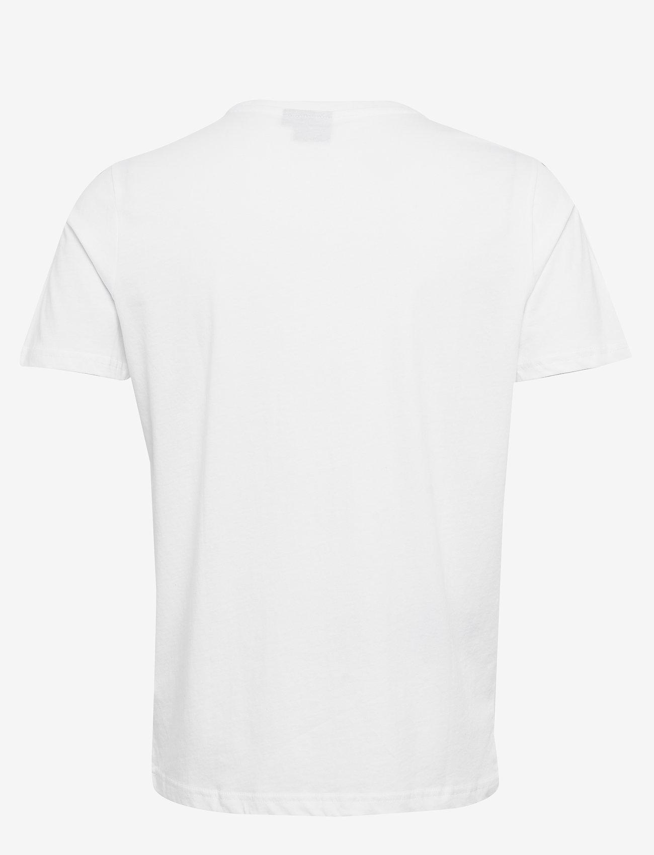 Hummel - hmlPETER T-SHIRT S/S - t-shirts - white - 1
