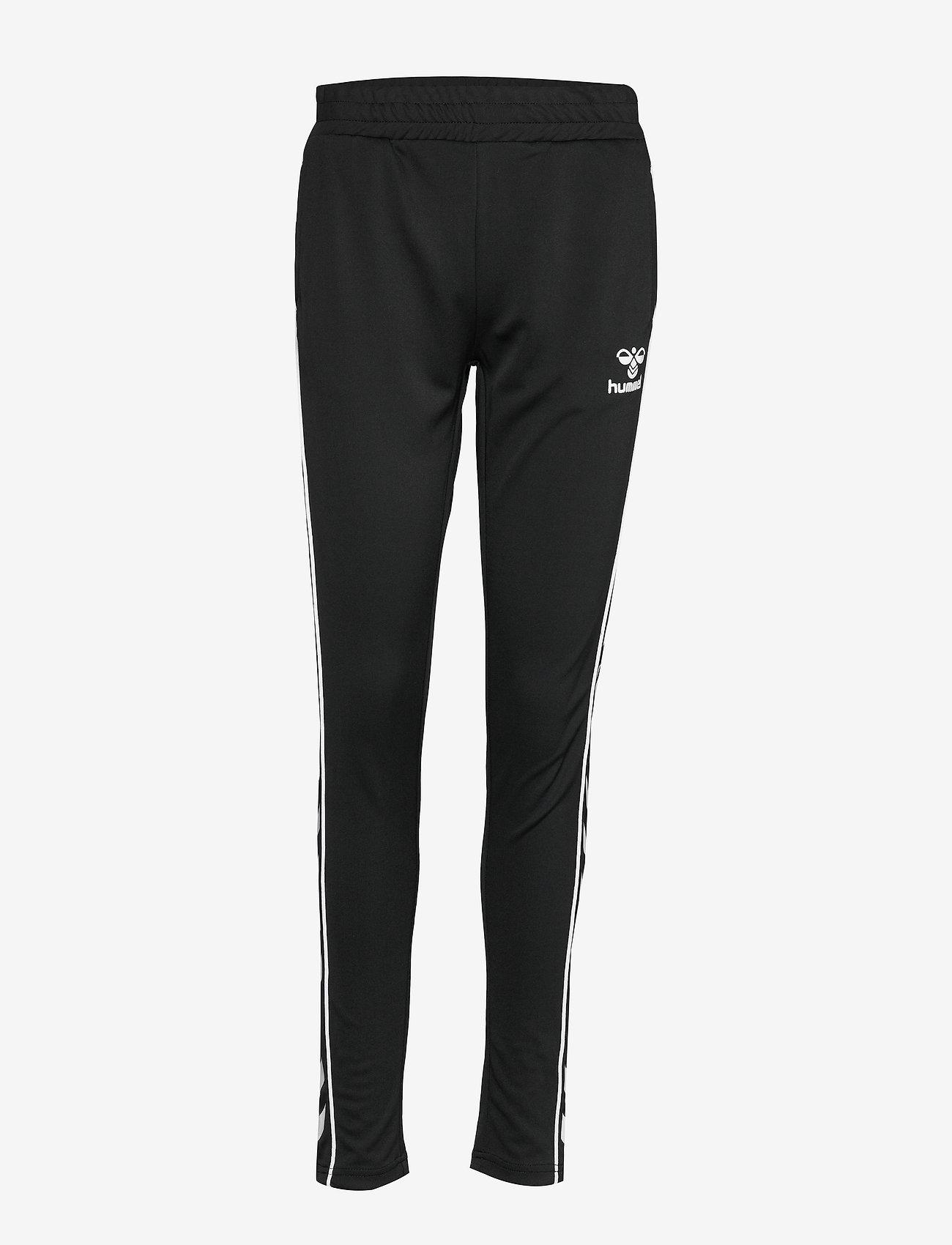 Hummel - hmlJINA SLIM PANTS - pants - black - 0