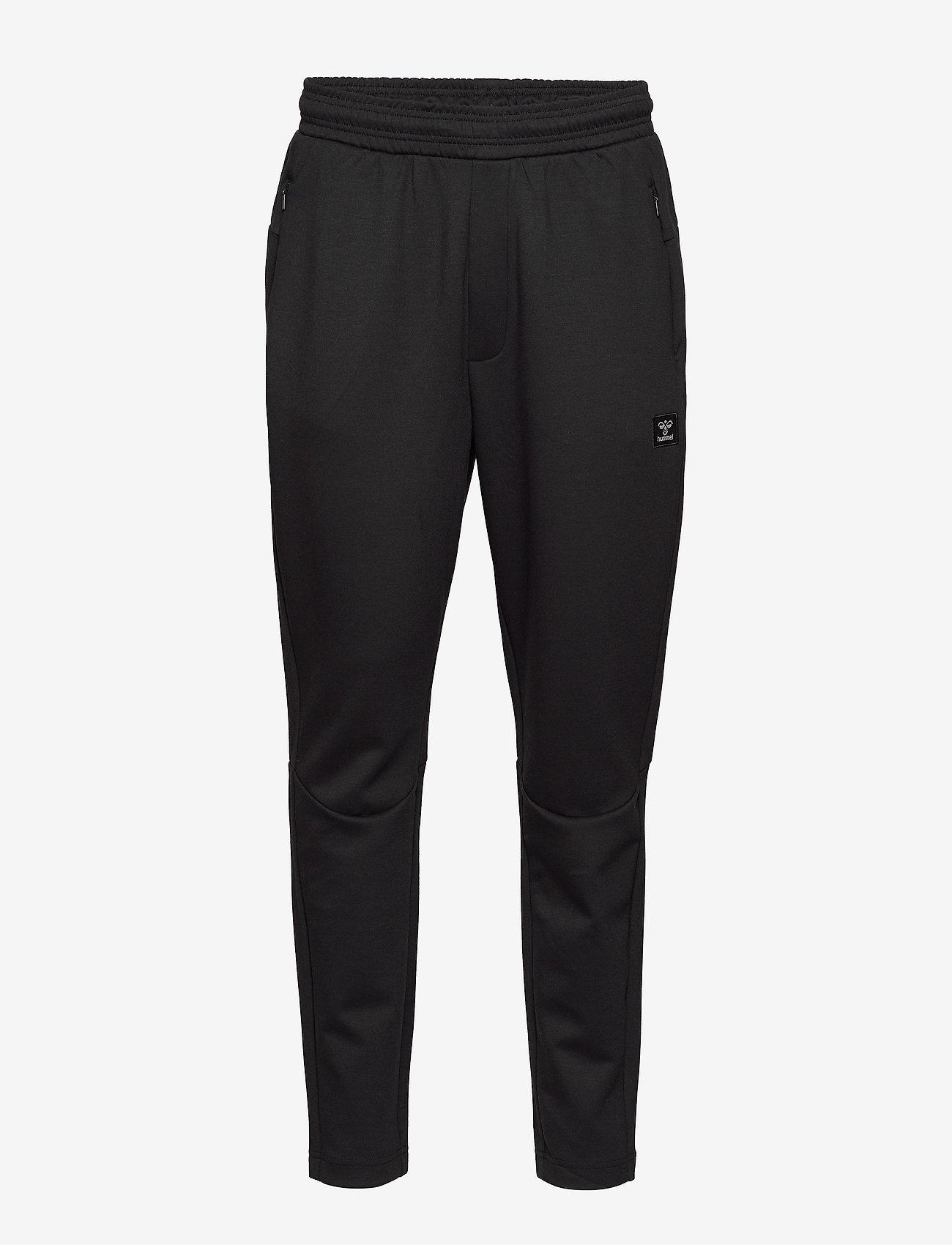Hummel - hmlTROPPER TAPERED PANTS - pants - black - 0