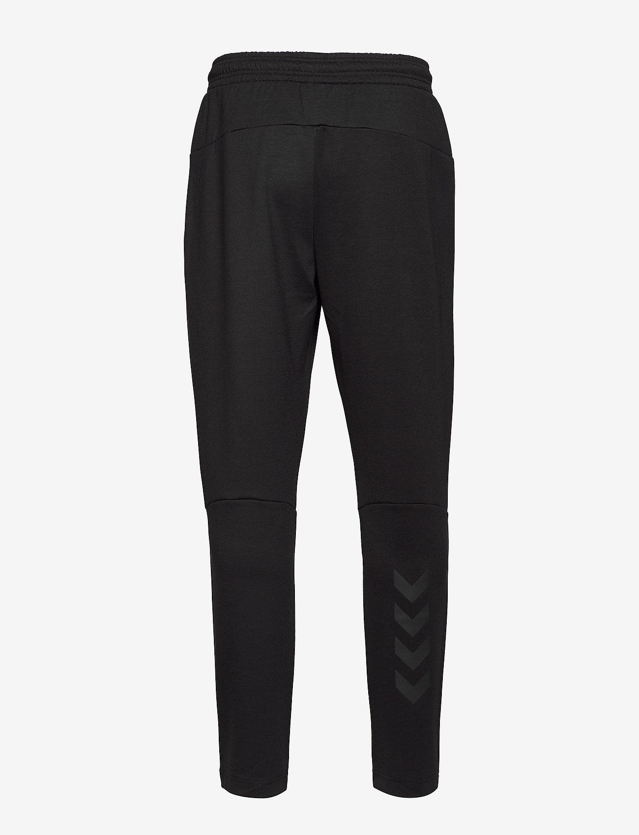 Hummel - hmlTROPPER TAPERED PANTS - pants - black - 1