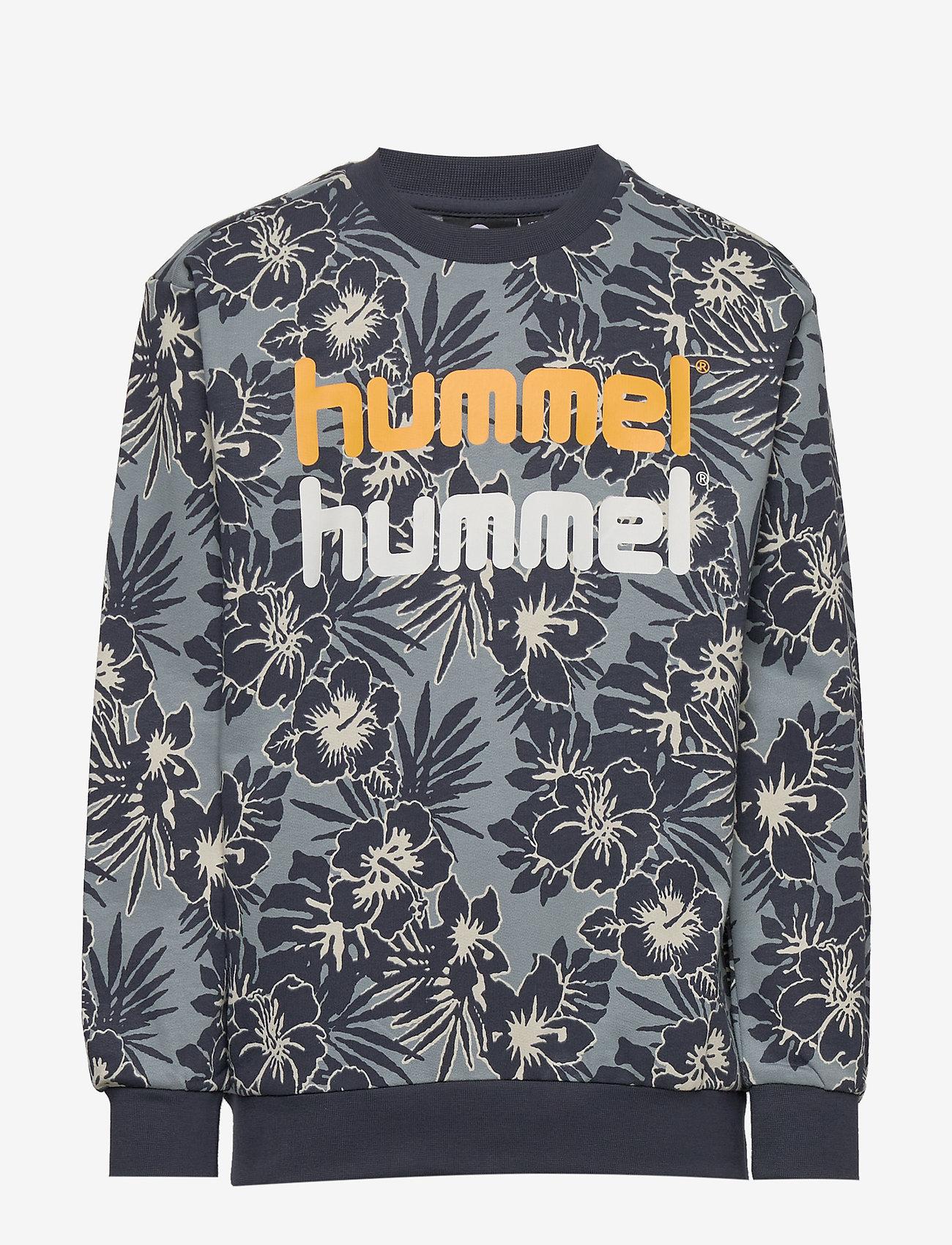 Hummel - hmlEDWIN CREWNECK - bluzy - lead - 0