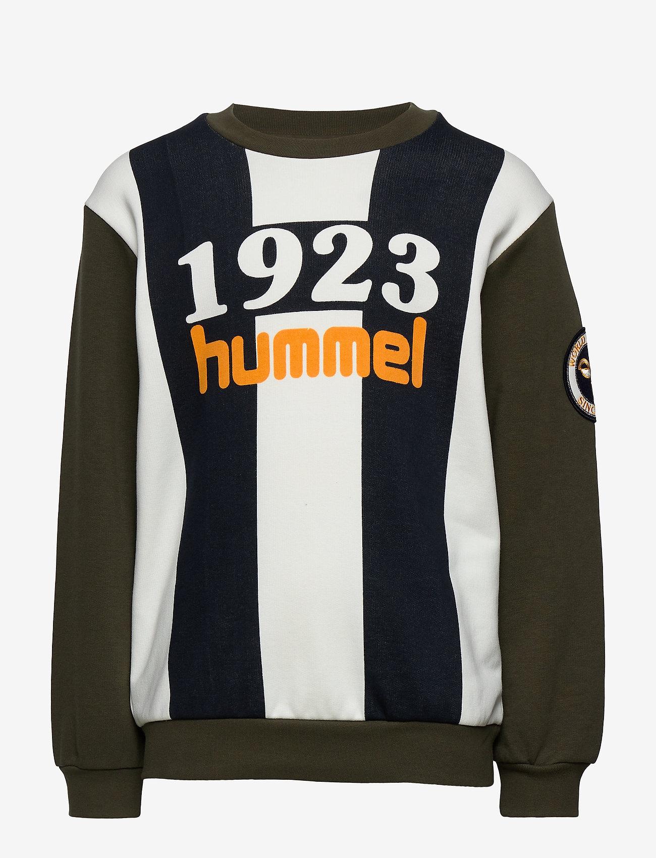 Hummel - hmlKENLY SWEATSHIRT - bluzy - ivy green - 0