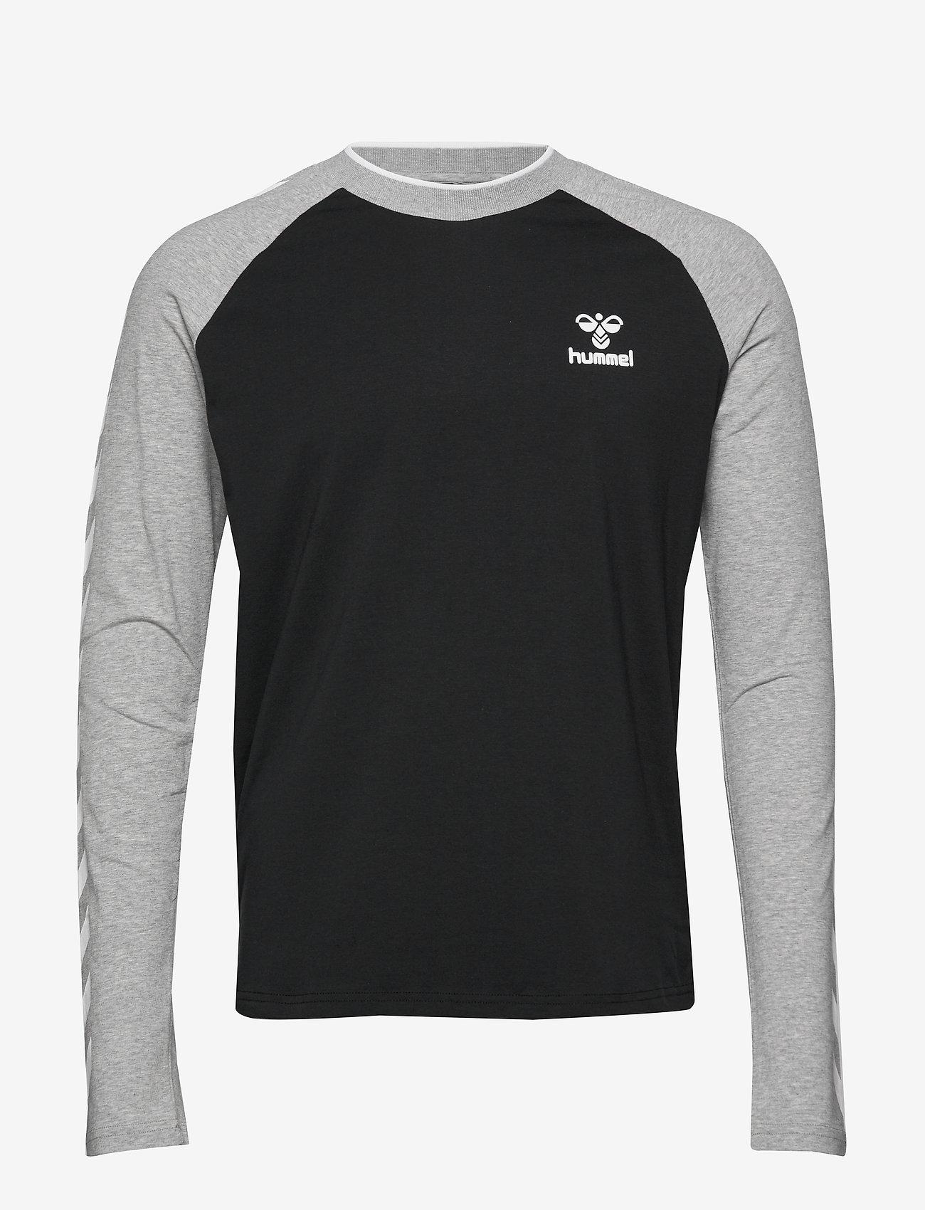 Hummel - hmlMARK T-SHIRT L/S - bluzki z długim rękawem - black - 0