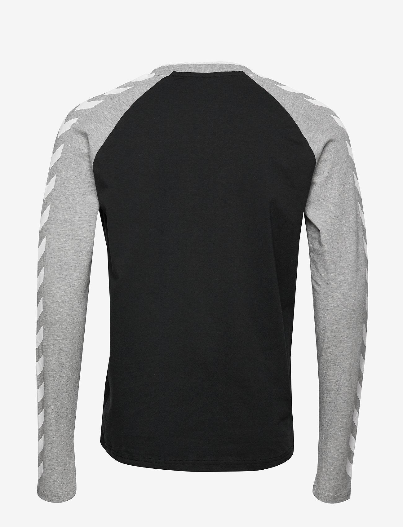 Hummel - hmlMARK T-SHIRT L/S - bluzki z długim rękawem - black - 1