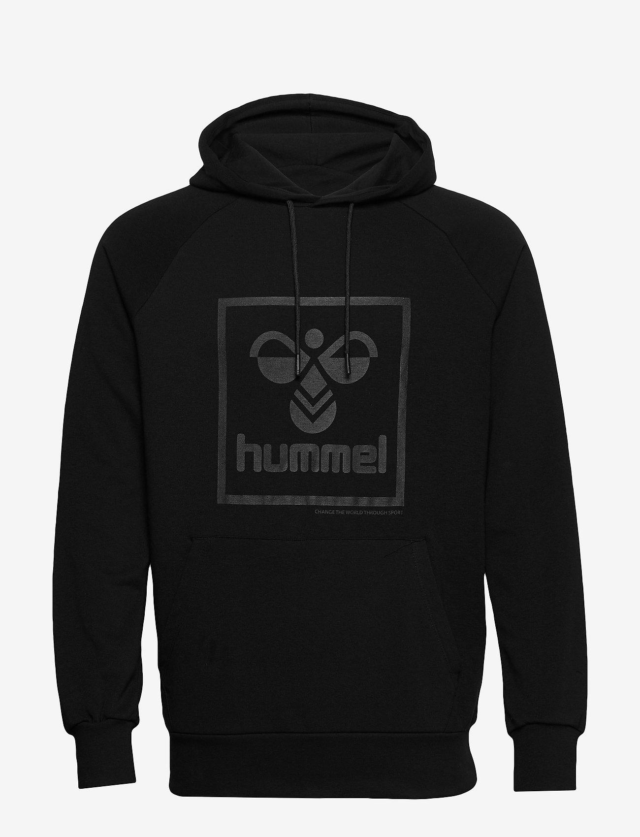 Hummel - hmlISAM HOODIE - hoodies - black - 0