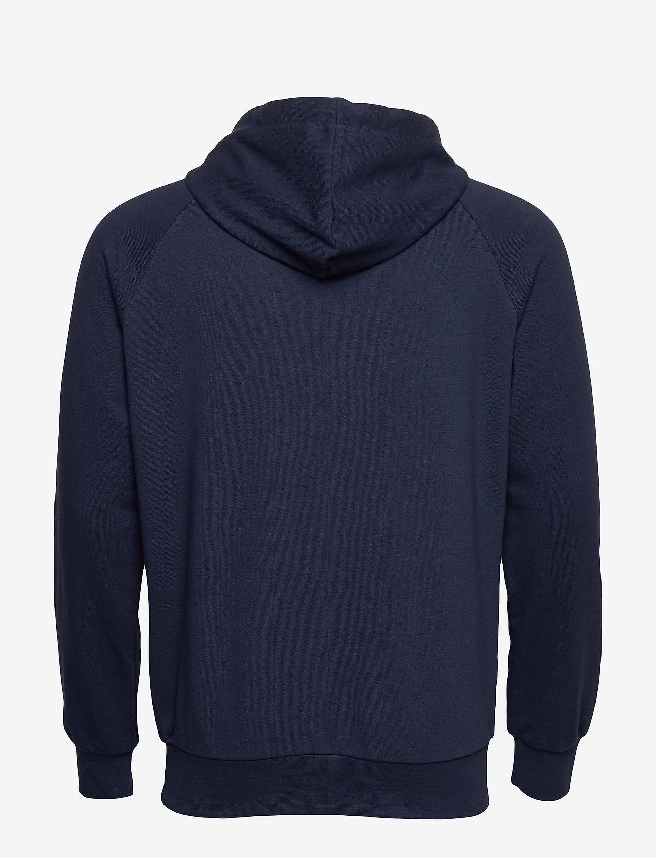 Hummel - hmlISAM HOODIE - hoodies - black iris - 1