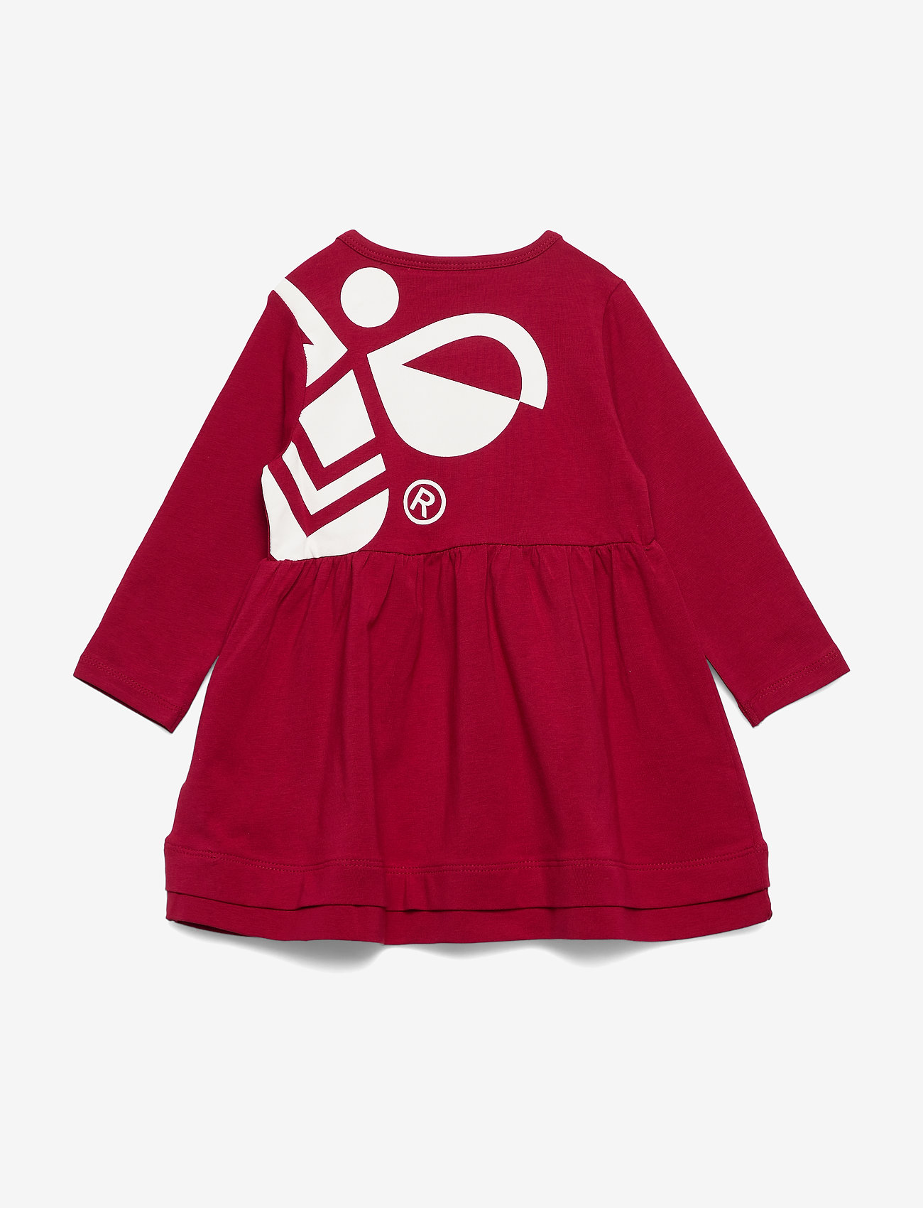 Hummel - hmlSONJA DRESS L/S - robes - rio red - 1