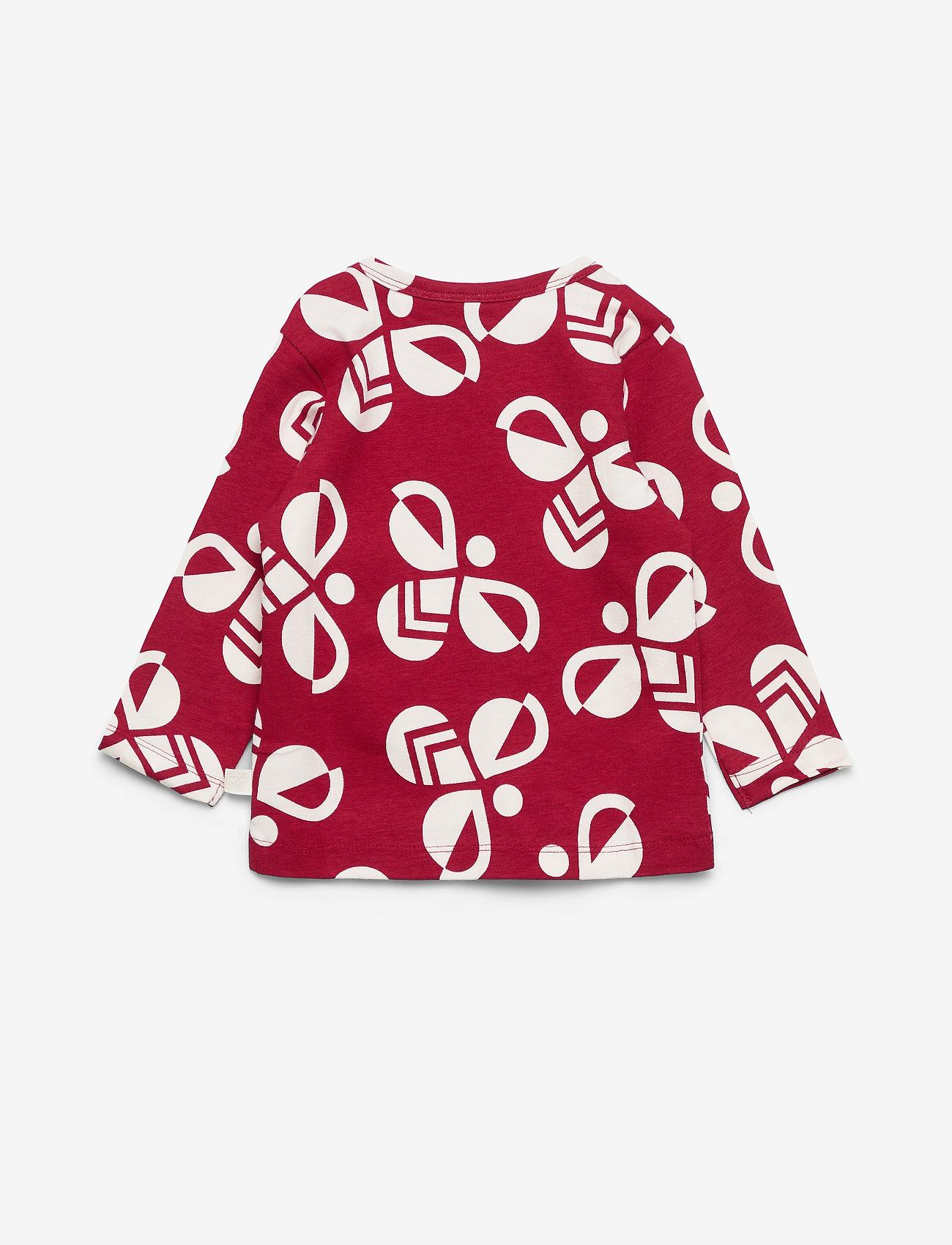 Hummel - hmlCHARLIE T-SHIRT L/S - long-sleeved t-shirts - rio red - 1