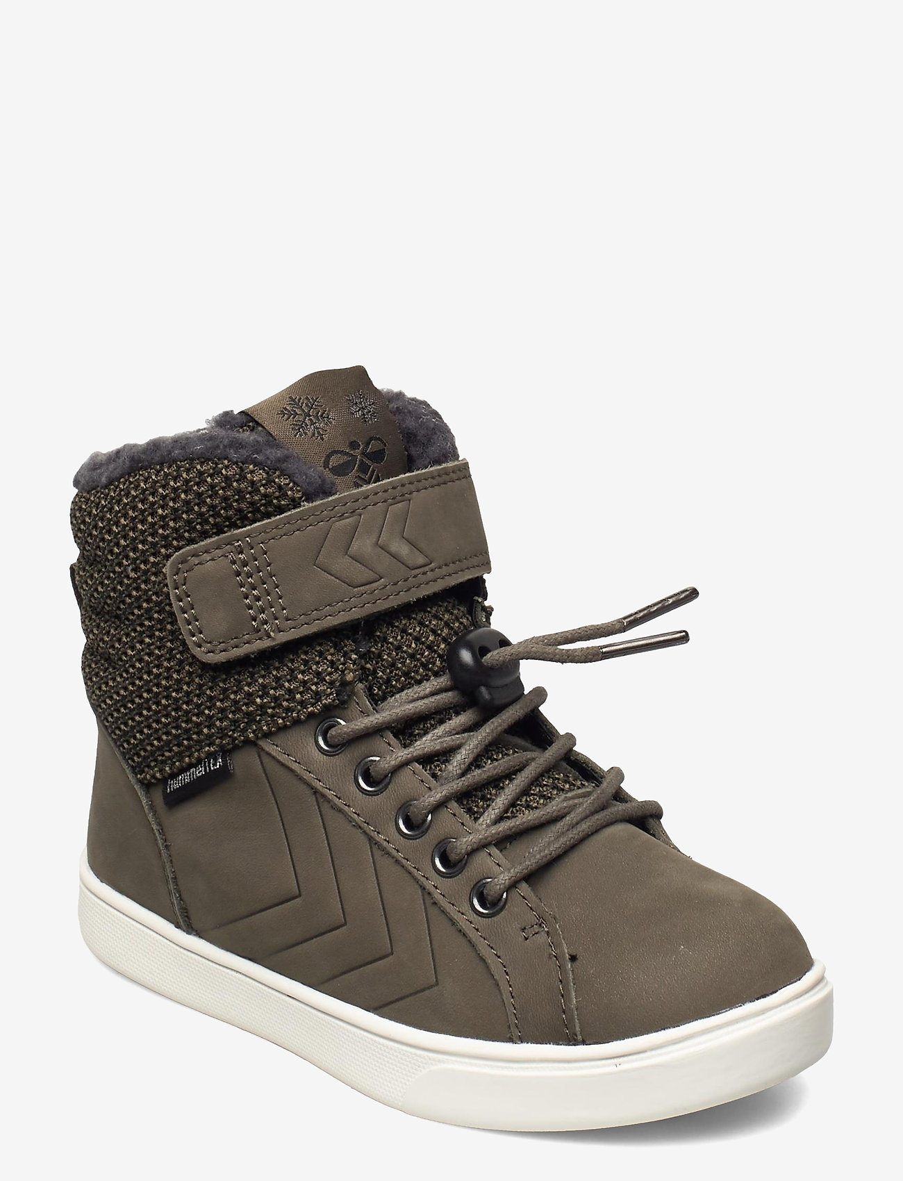 Hummel - SPLASH JR - winter boots - olive night - 0