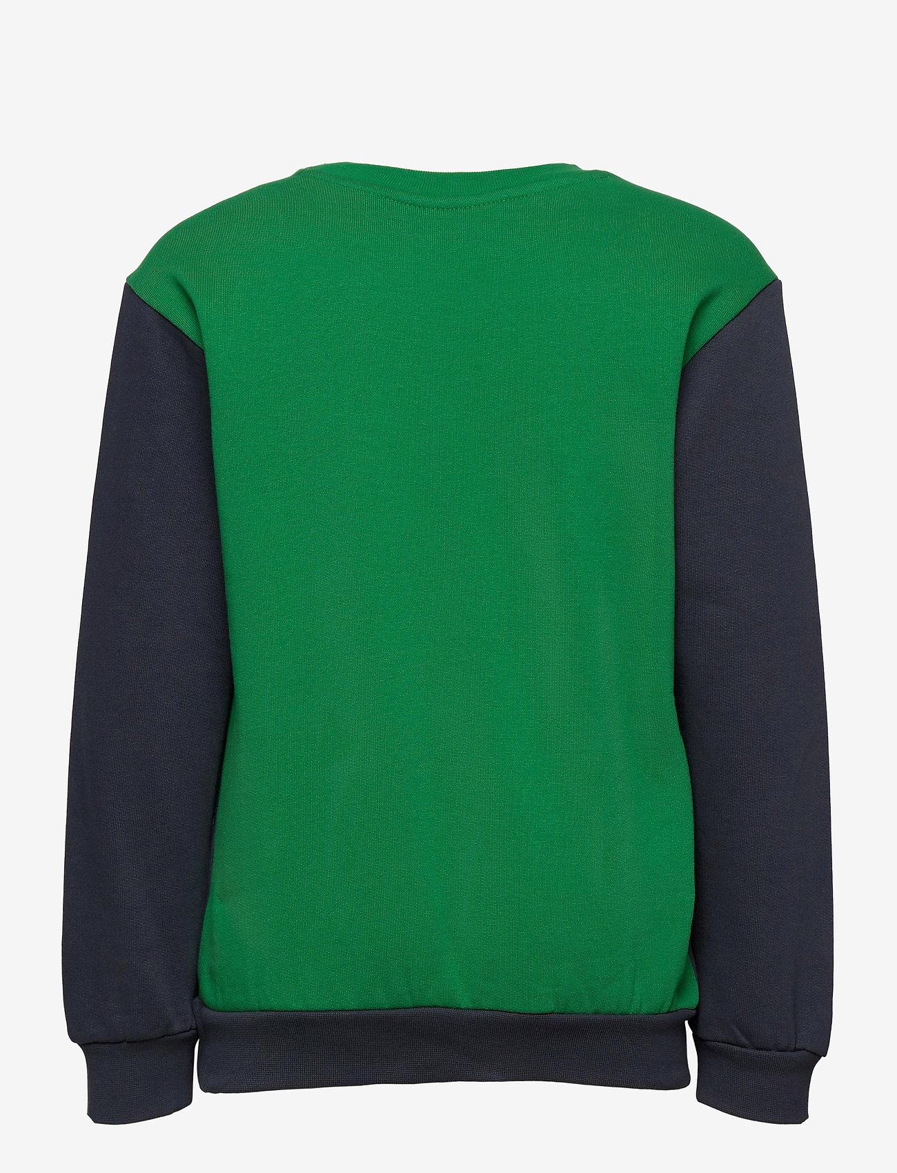 Hummel - hmlLIAM SWEATSHIRT - sweatshirts - blue nights - 1