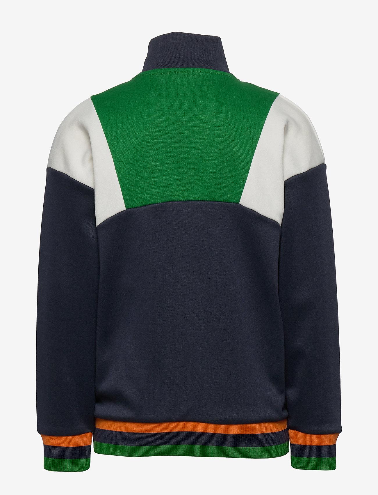 Hummel - hmlTIGER ZIP JACKET - sweatshirts - blue nights - 1