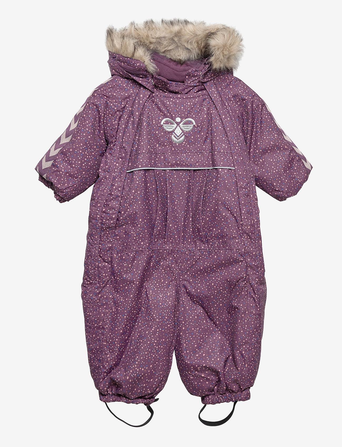 Hummel - hmlMOON SNOWSUIT - snowsuit - blackberry wine - 0