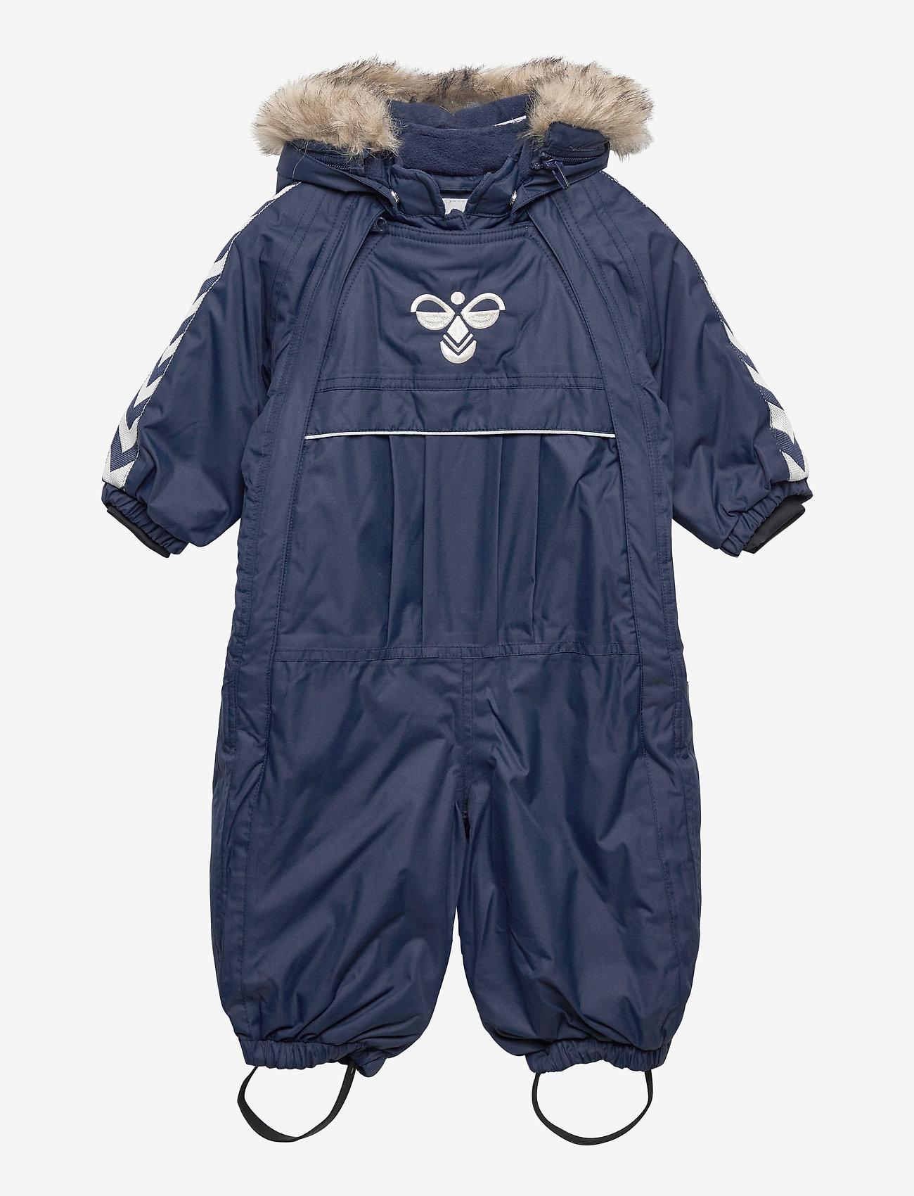 Hummel - hmlMOON SNOWSUIT - snowsuit - black iris - 0
