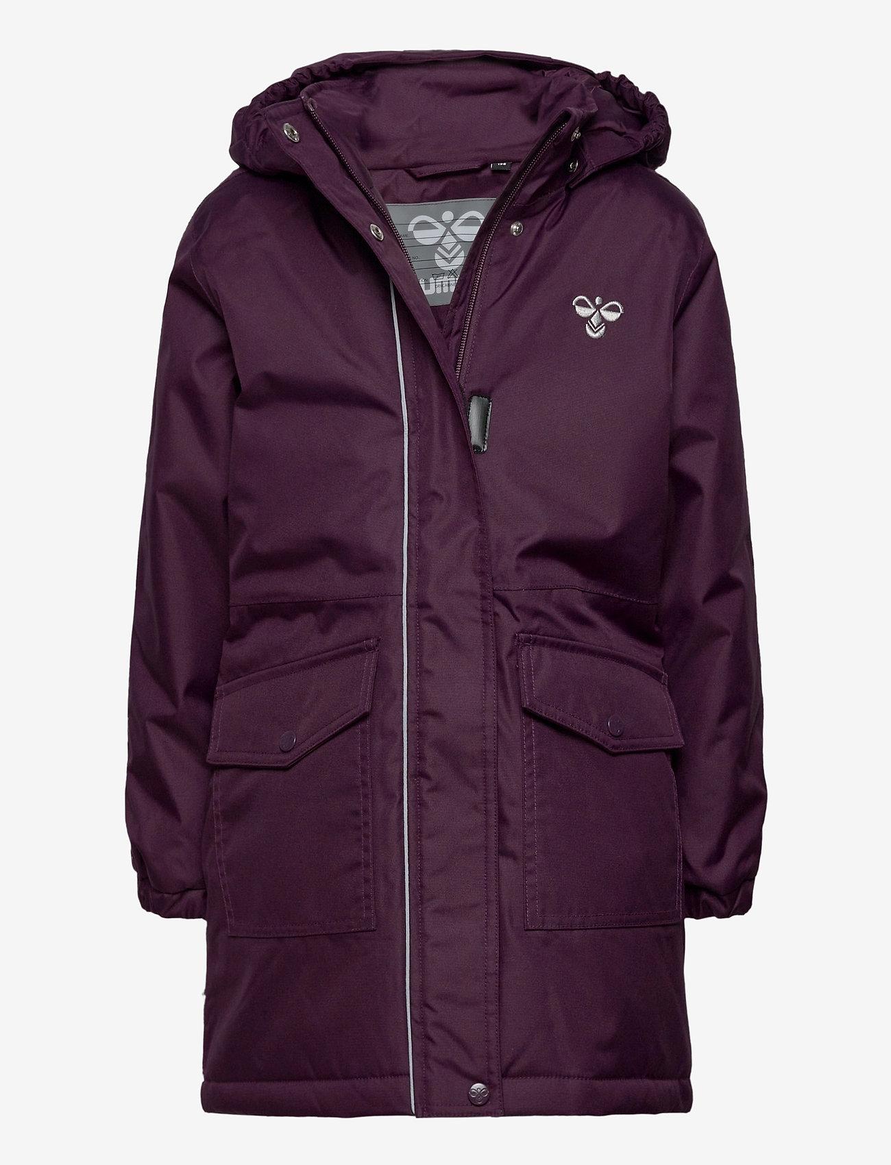 Hummel - hmlJEANNE COAT - ski jackets - blackberry wine - 0