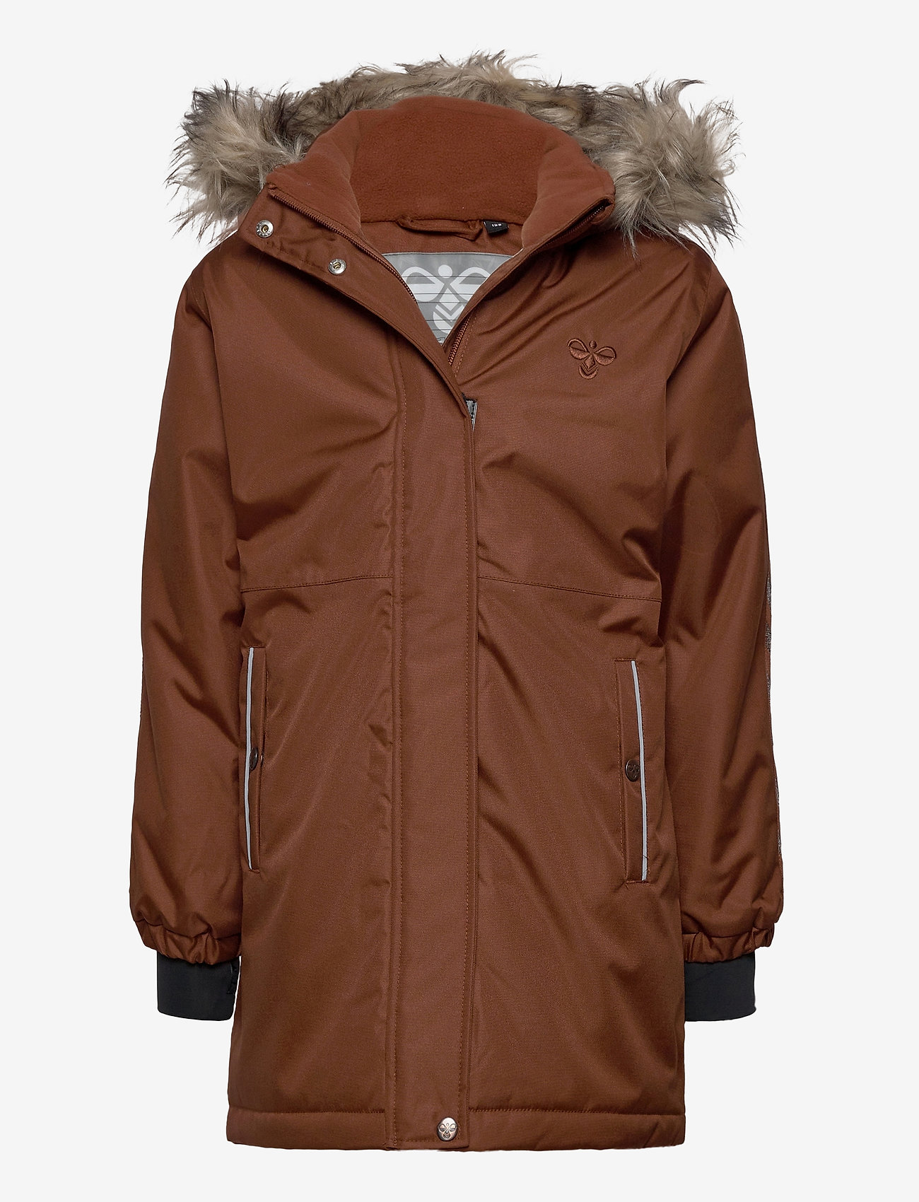 Hummel - hmlLEAF COAT - ski jackets - tortoise shell - 0