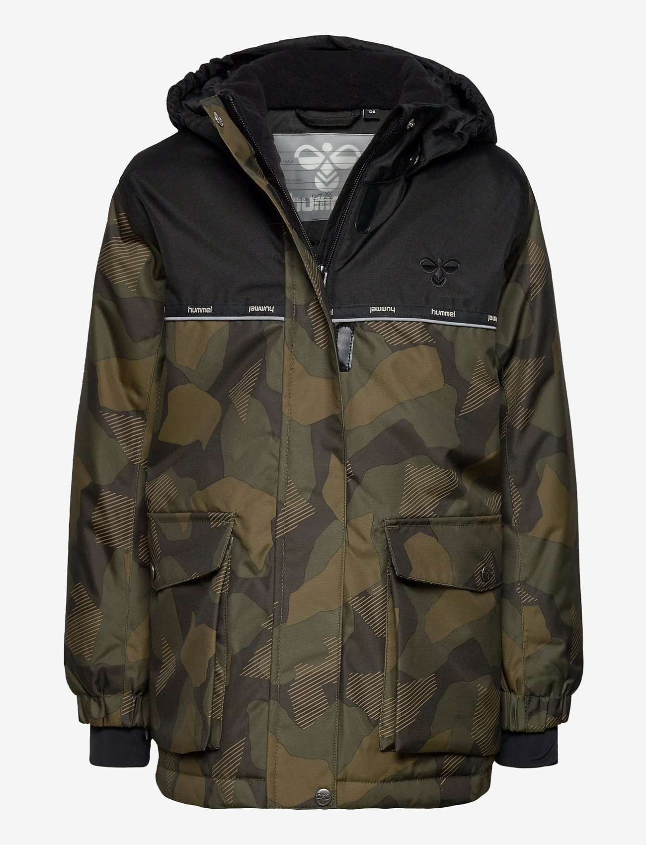 Hummel - hmlWEST JACKET - insulated jackets - olive night/ ecru olive - 0