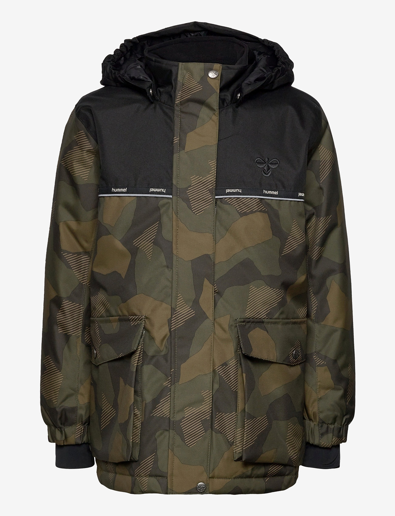 Hummel - hmlWEST JACKET - insulated jackets - olive night/ ecru olive - 1