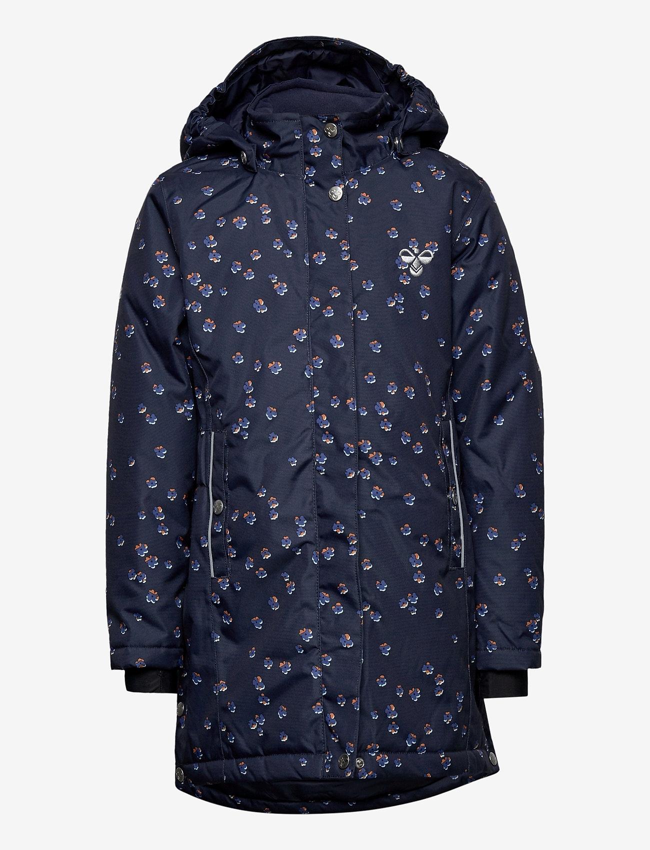 Hummel - hmlMARTHA COAT - bomber jackets - black iris/marlin - 0