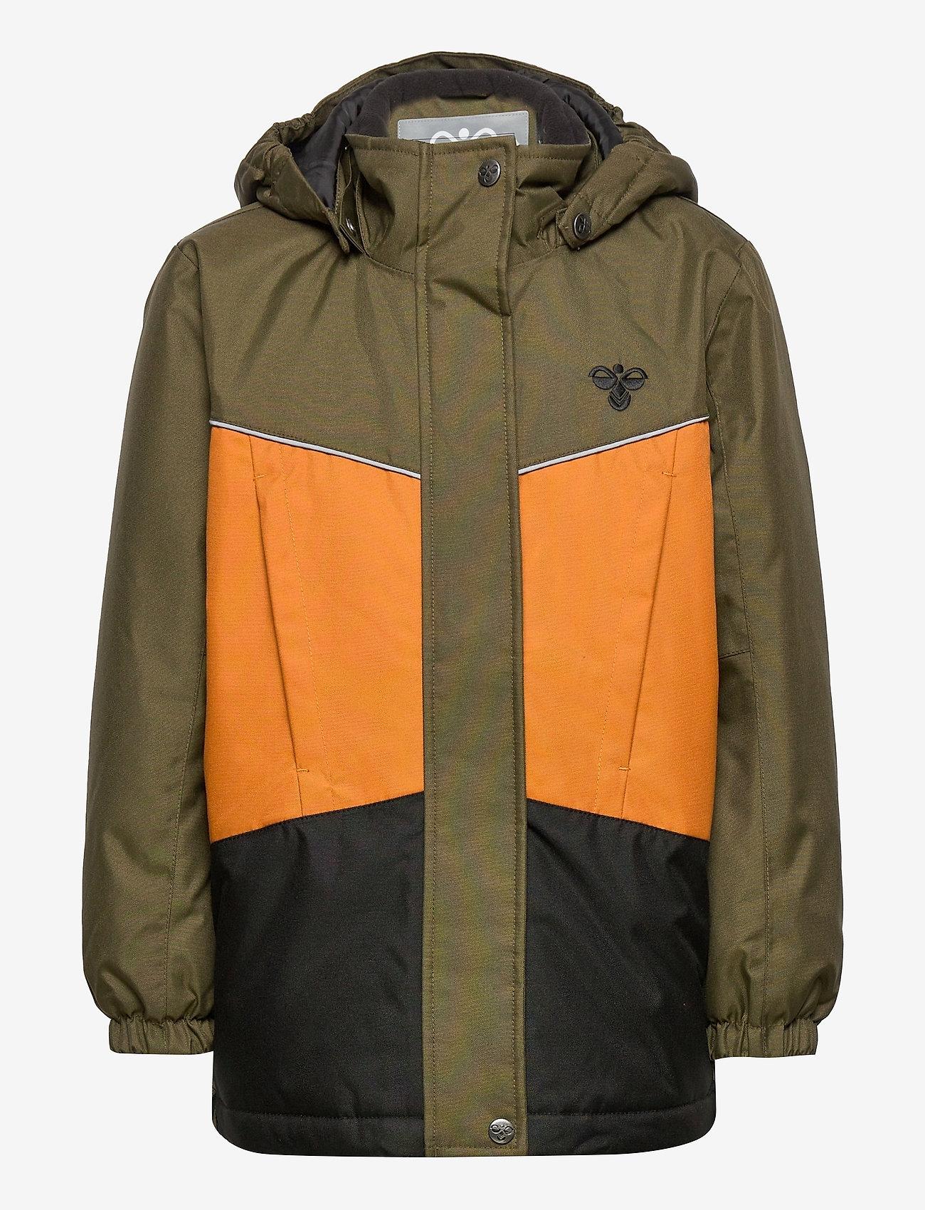 Hummel - hmlCONRAD JACKET - insulated jackets - olive night - 0