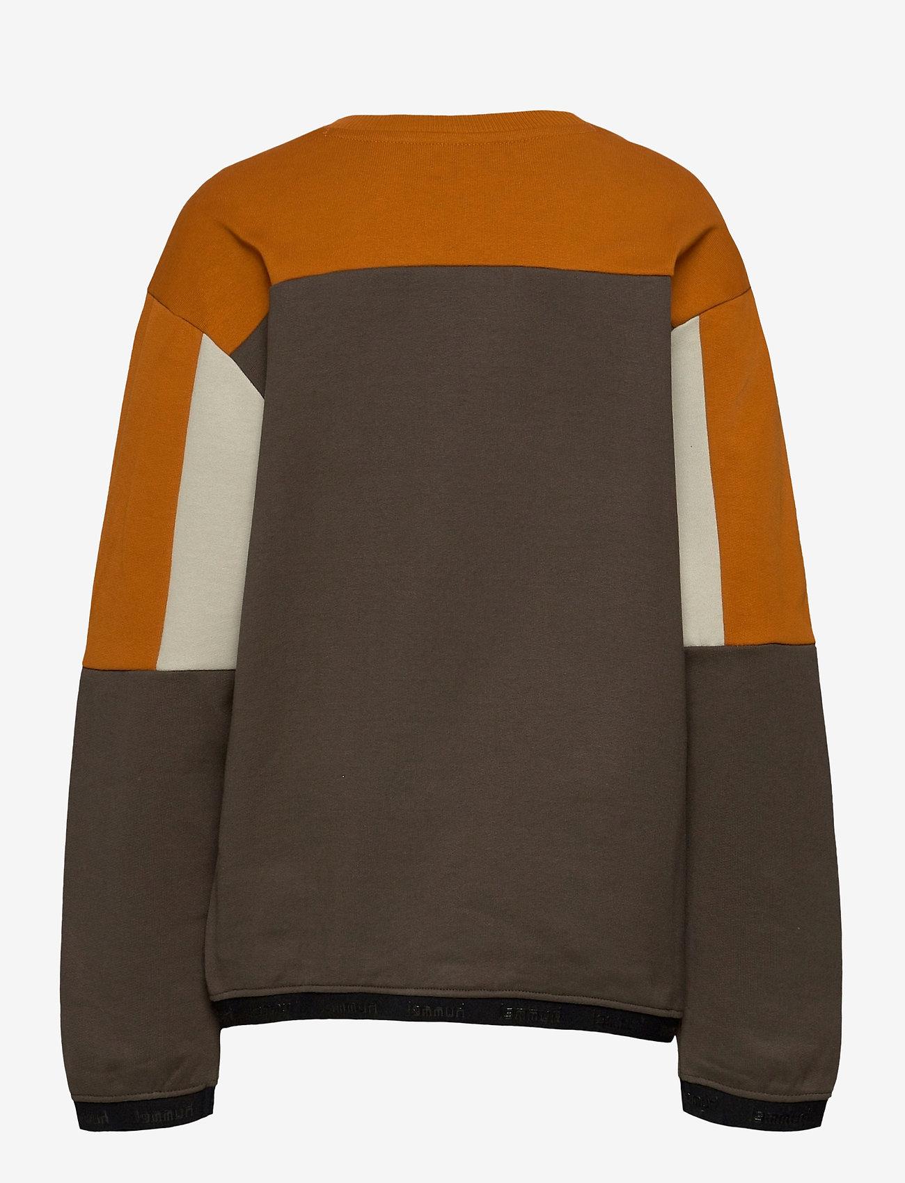 Hummel - hmlSANDER SWEATSHIRT - sweatshirts - black olive - 1