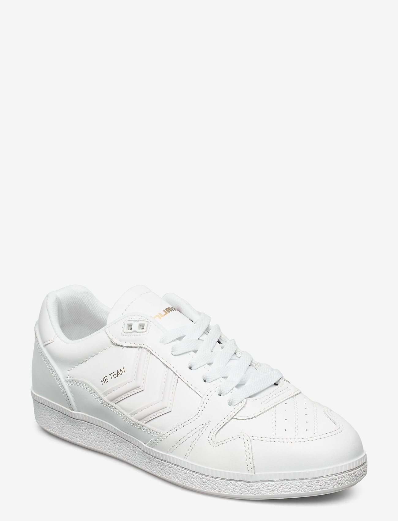 Hummel - HB TEAM LEATHER - laag sneakers - white - 0