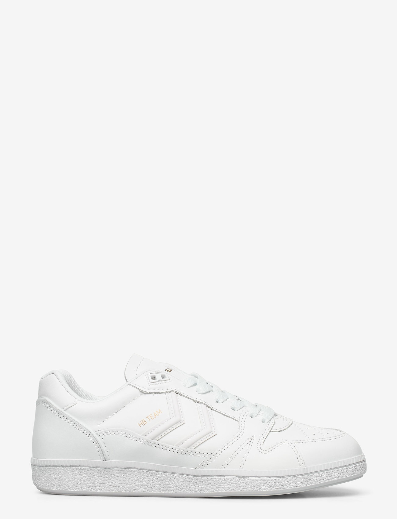 Hummel - HB TEAM LEATHER - laag sneakers - white - 1