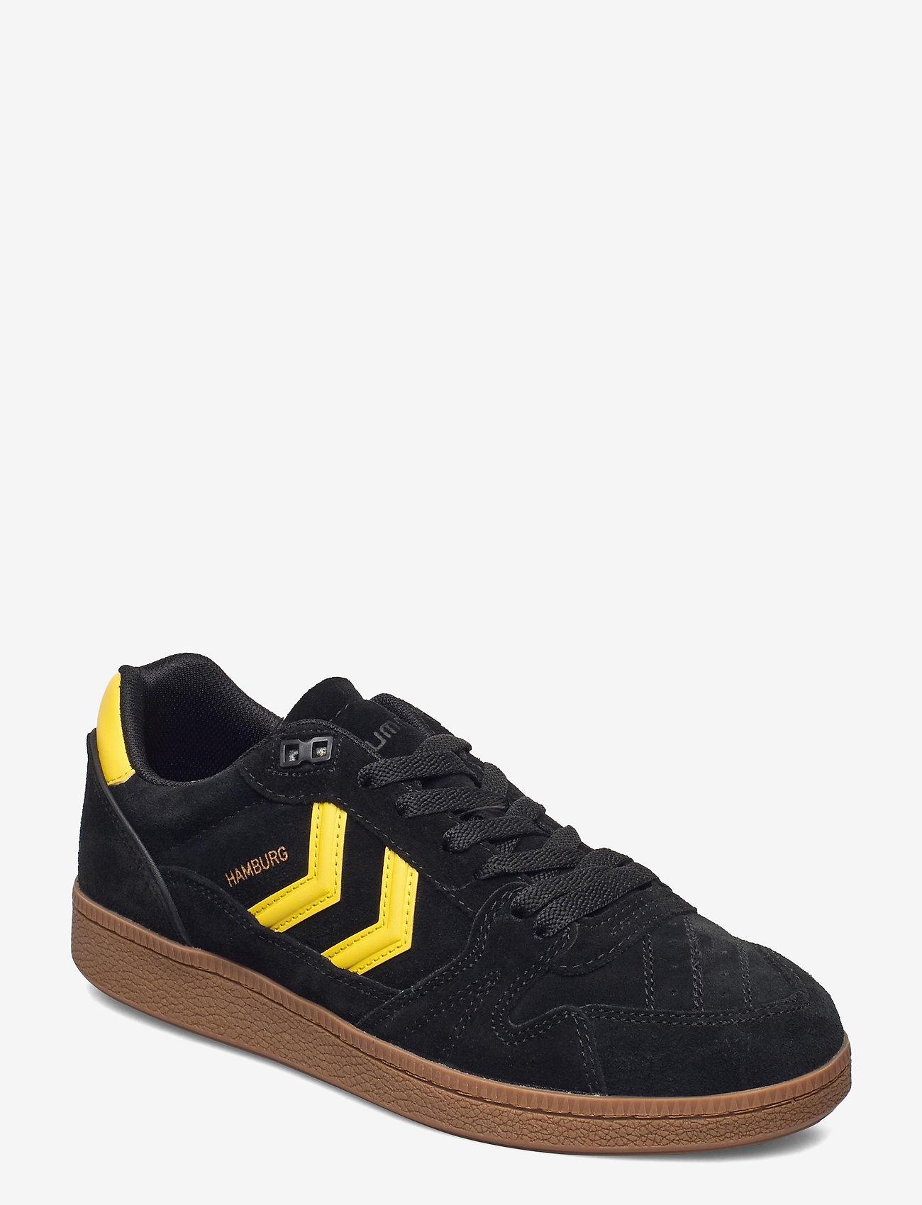 Hummel - HB TEAM SUEDE - laag sneakers - black - 1