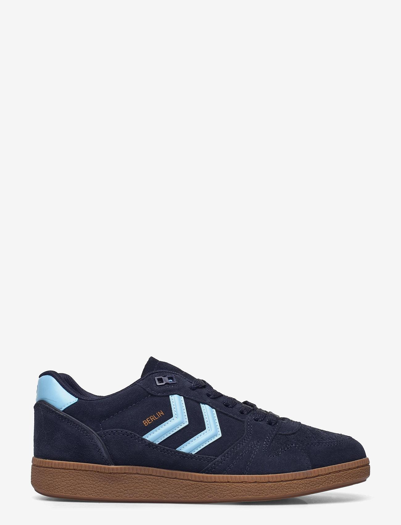Hummel - HB TEAM SUEDE - laag sneakers - peacoat - 1