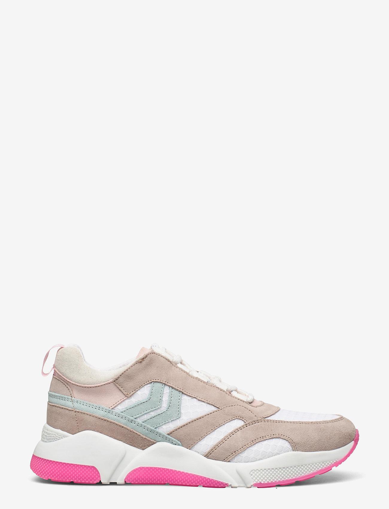 Hummel - ALBERTA - laag sneakers - white sand - 0