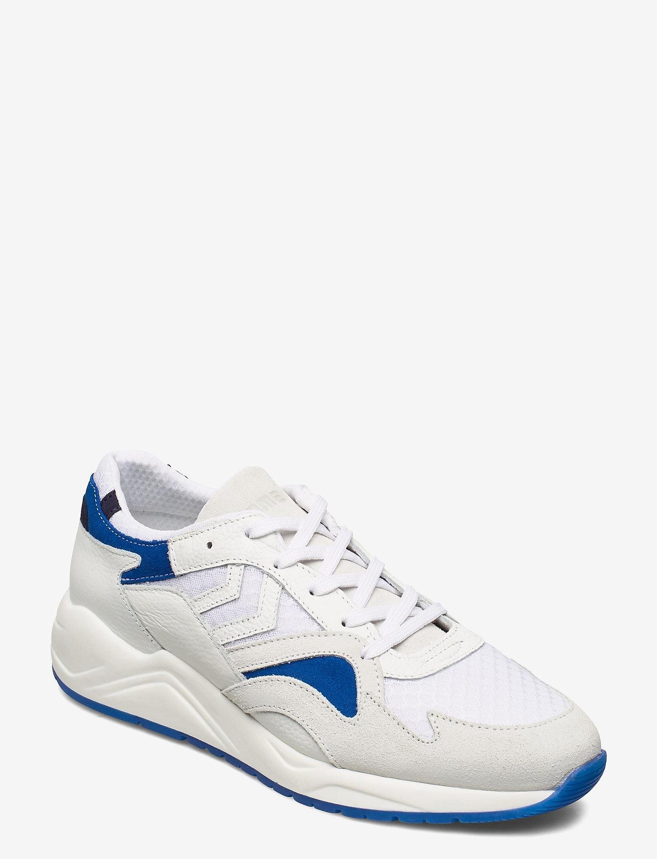 Hummel - EDMONTON PREMIUM - laag sneakers - white/blue - 0