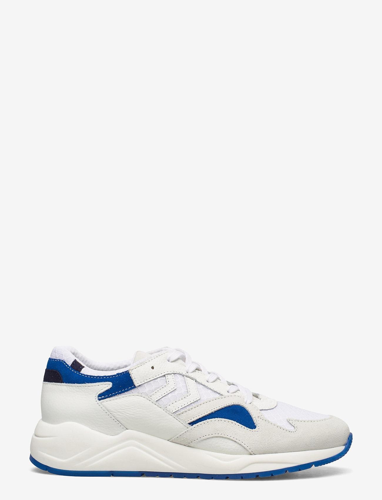 Hummel - EDMONTON PREMIUM - laag sneakers - white/blue - 1