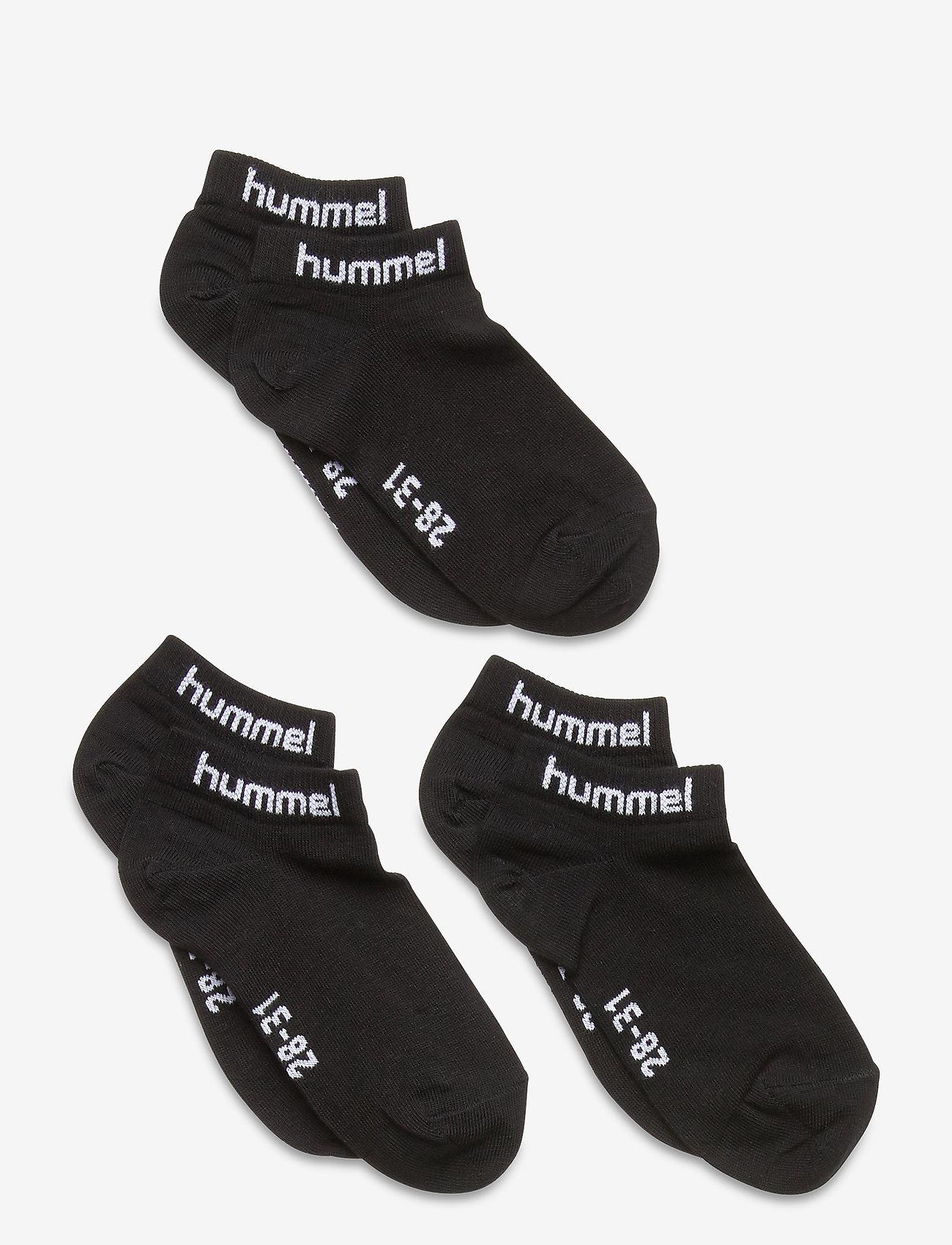 Hummel - hmlTORNO 3-PACK SOCK - skarpetki - black - 0