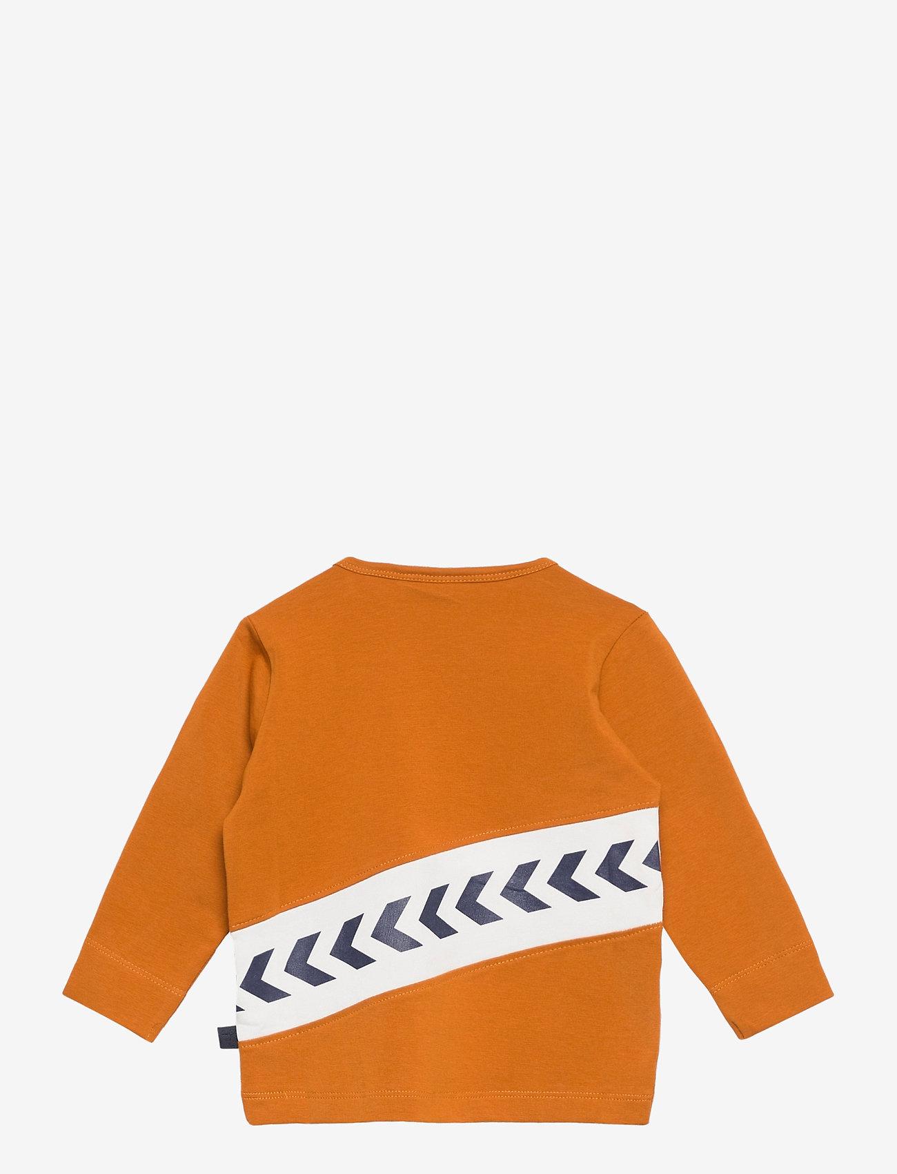 Hmlclement T-shirt L/s (Pumpkin Spice) (18.36 €) - Hummel GyGdq