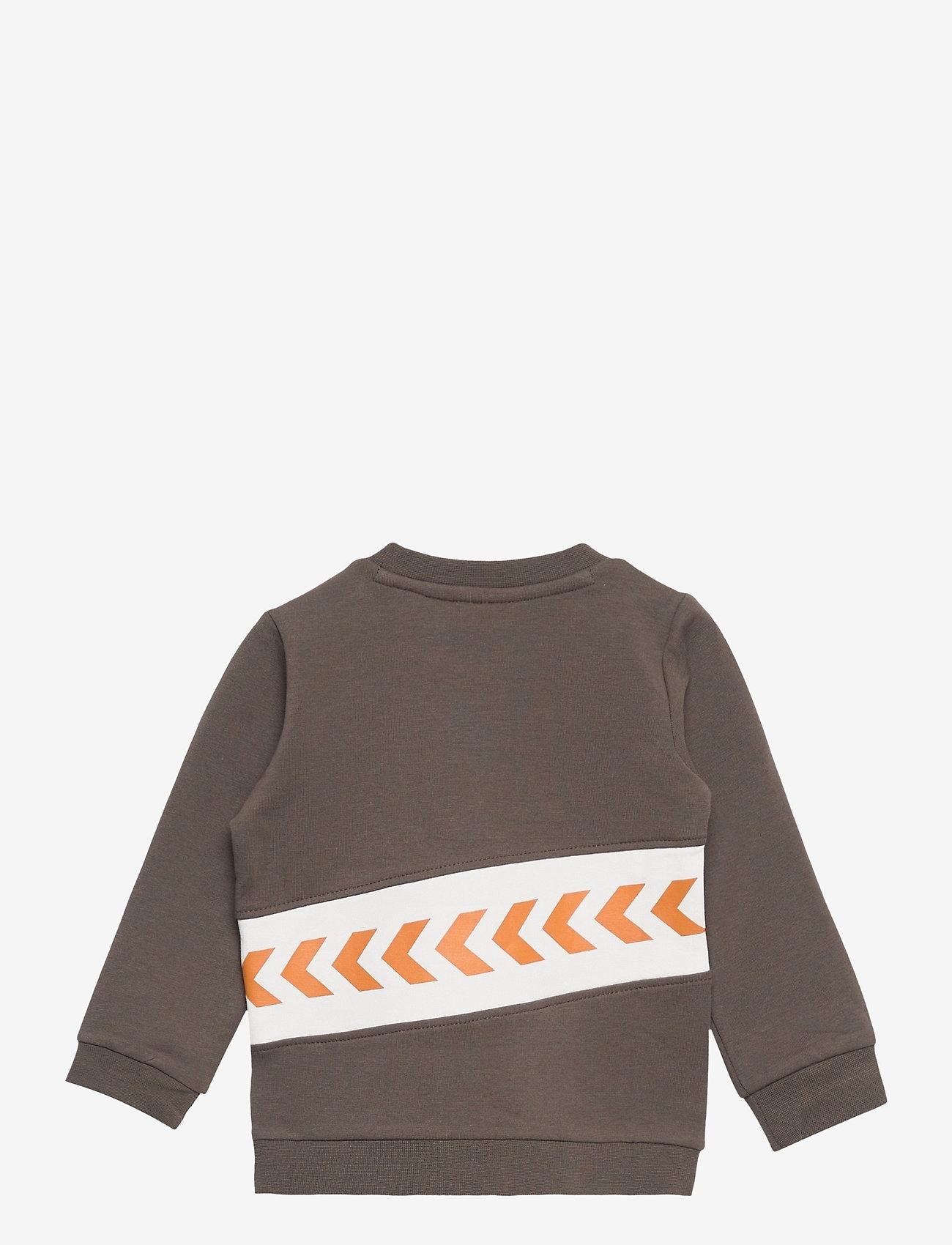 Hummel - hmlCLEMENT SWEAT - sweatshirts - black olive - 1