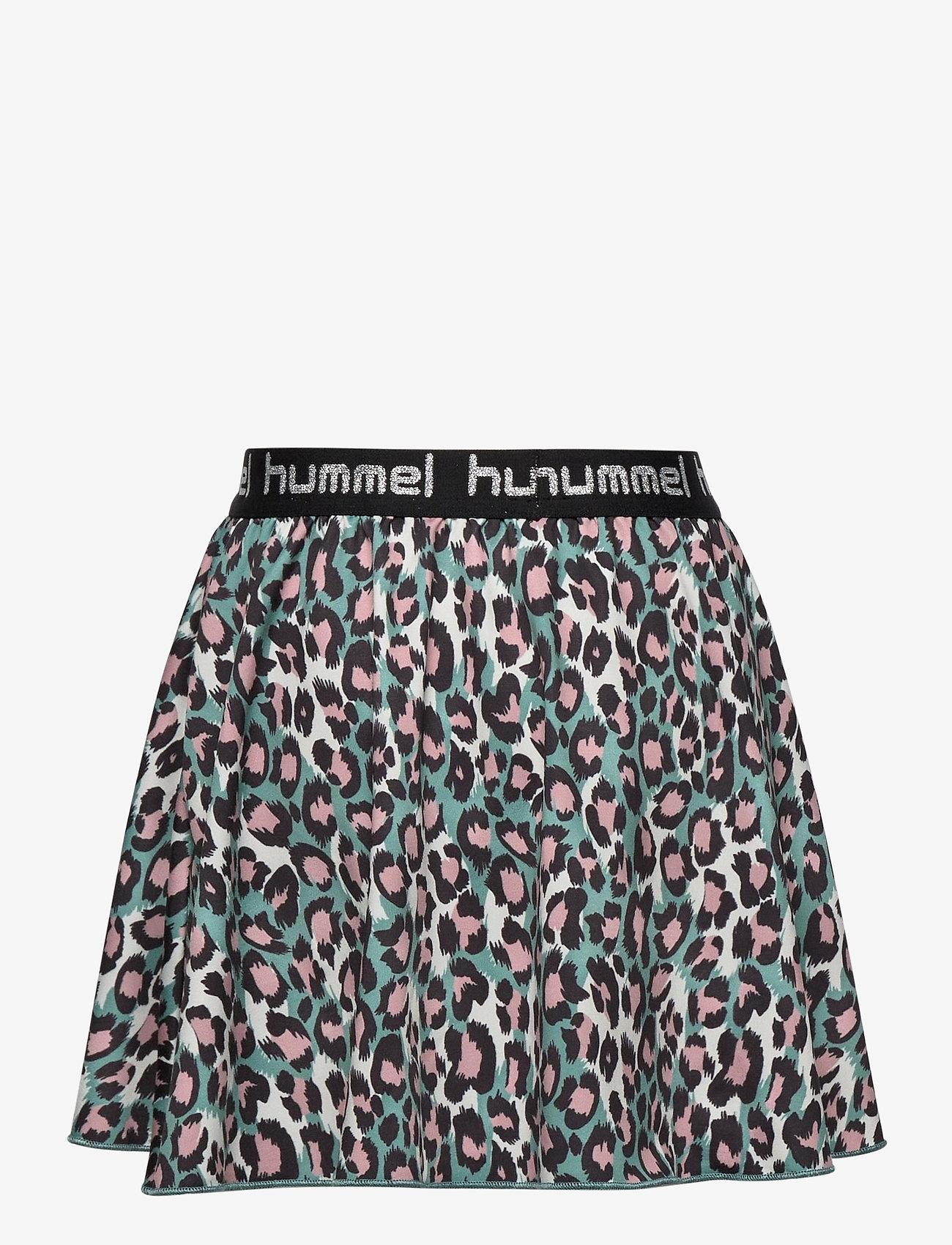 Hummel - hmlNANNA SKIRT - spódnice - oil blue - 1