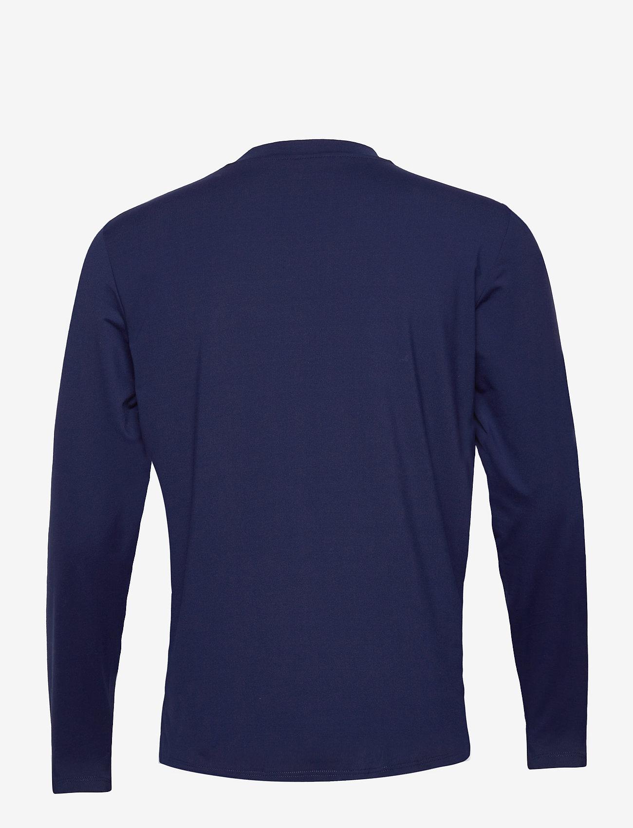Hummel hmlMARLEY T-SHIRT L/S - T-skjorter MEDIEVAL BLUE - Menn Klær