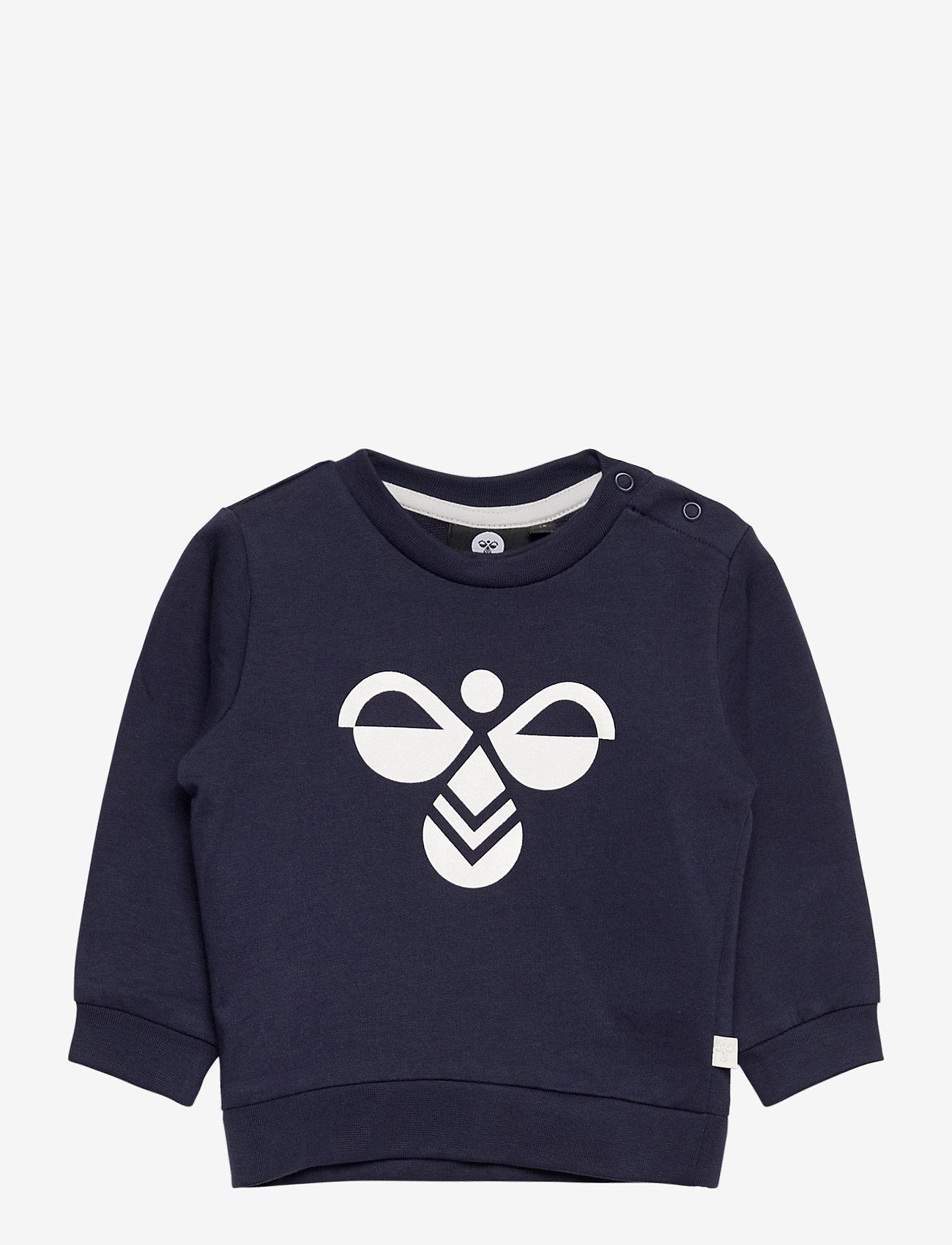 Hummel - hmlLEMON SWEATSHIRT - sweatshirts - black iris - 0