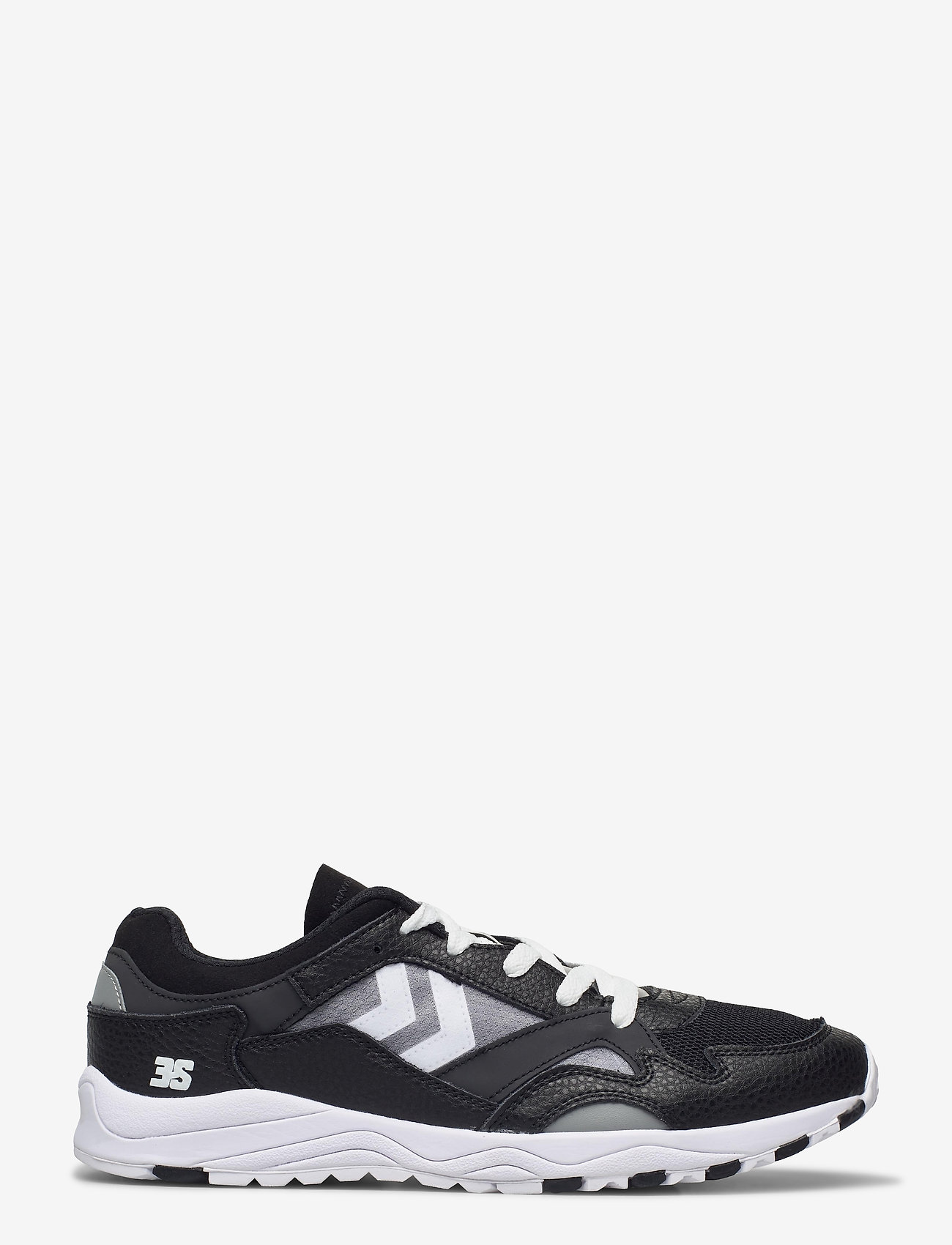 Hummel - EDMONTON 3S LEATHER - laag sneakers - black - 0