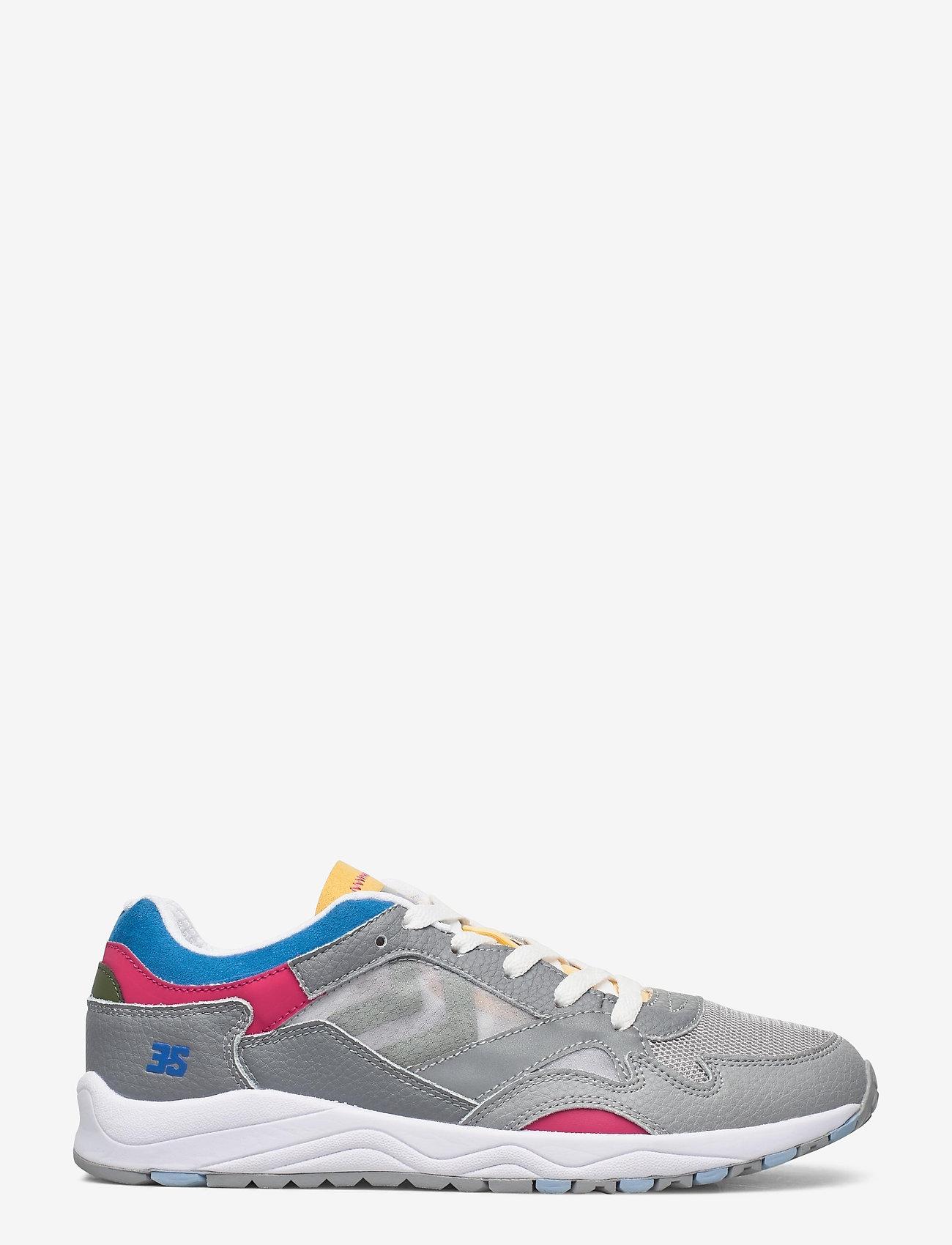 Hummel - EDMONTON 3S LEATHER - laag sneakers - sharkskin - 1